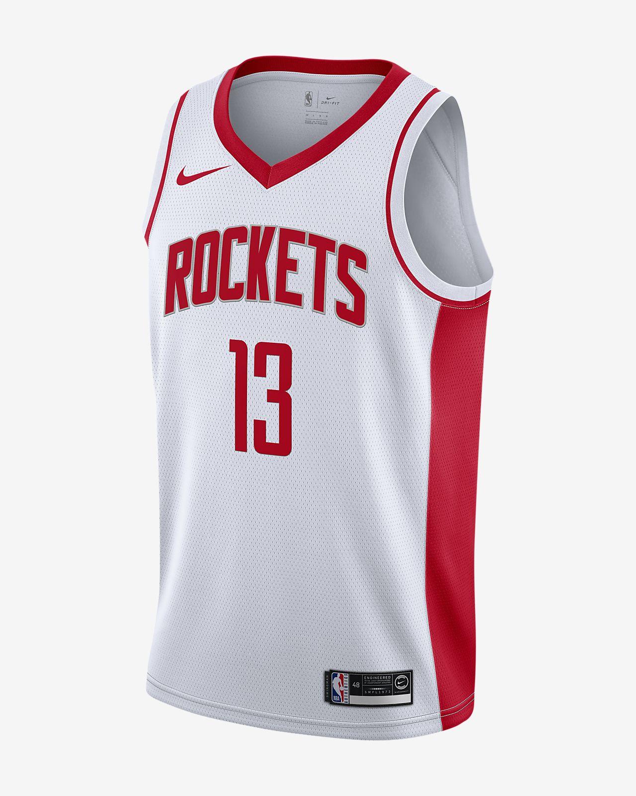 James Harden Rockets Association Edition-Nike NBA Swingman-trøje