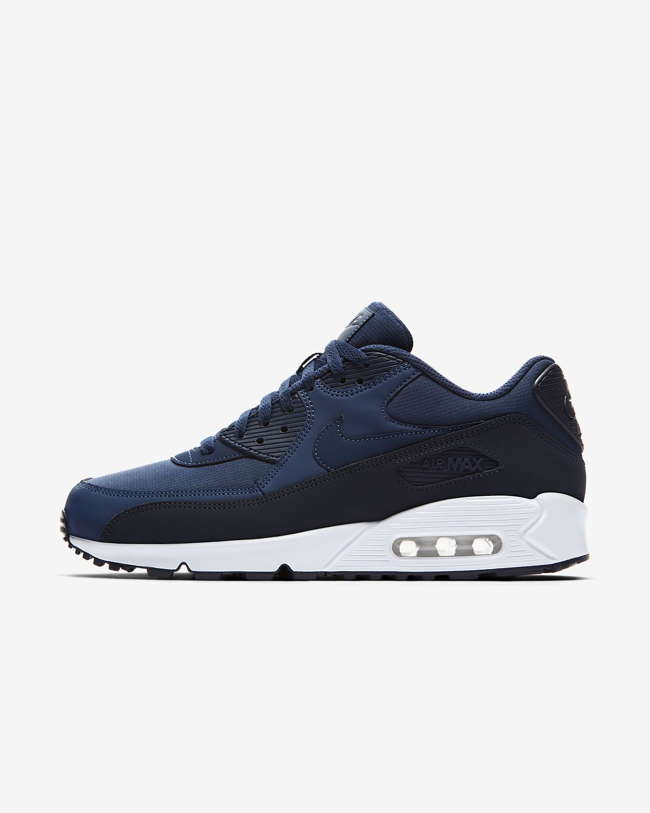 Nike Air Max 90 Essential Sneaker scarpe uomo blu da Ginnastica 537384427 NUOVO