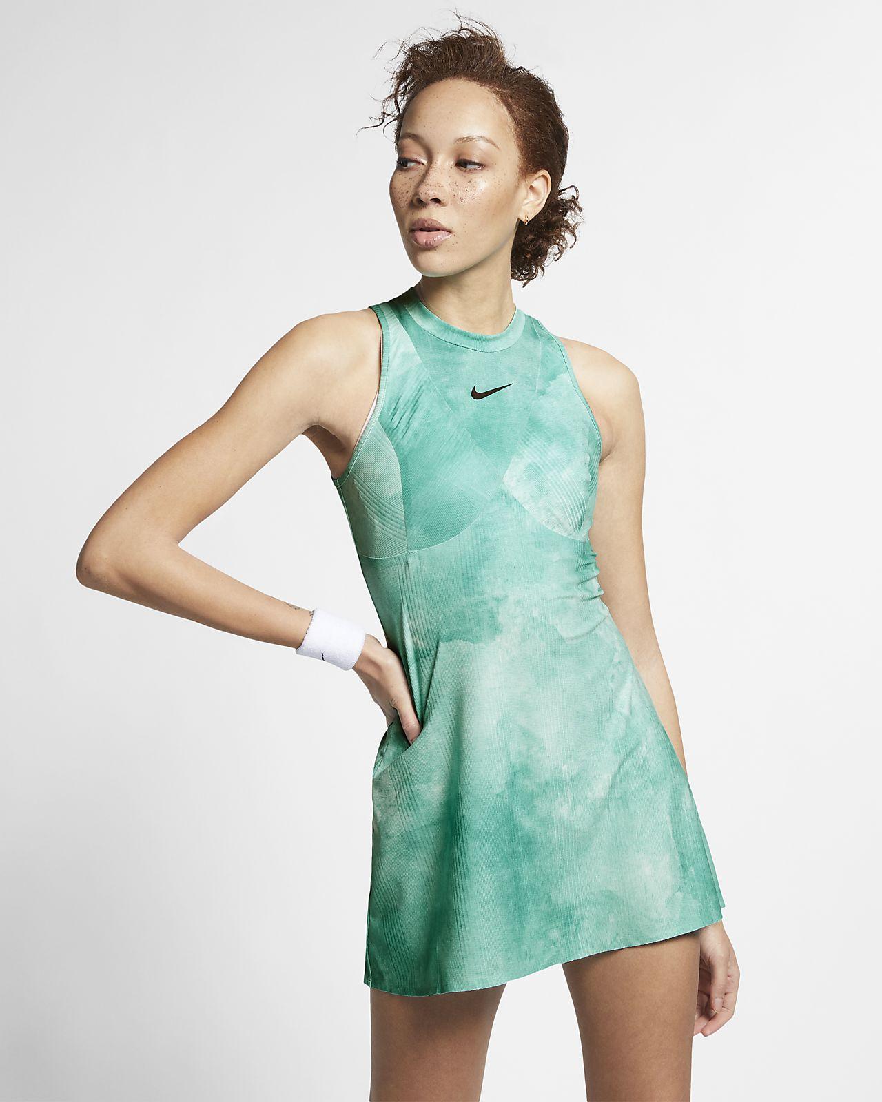 a1e80309eaa4 NikeCourt Dri-FIT Maria Women's Printed Tennis Dress. Nike.com