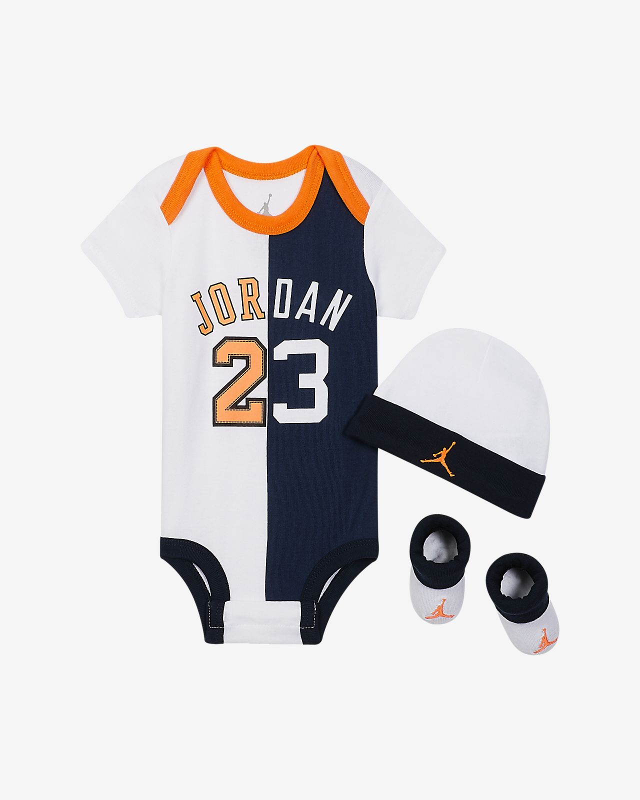 1ff548751e8503 Jordan Flight History Baby 3-Piece Set. Nike.com