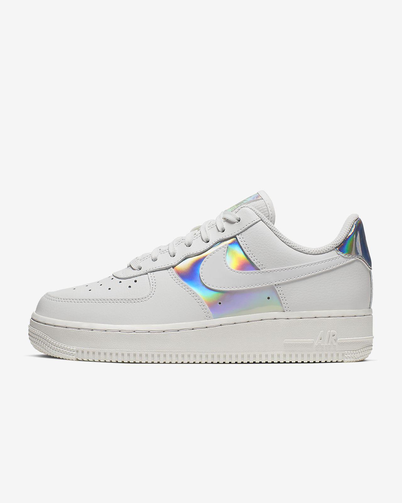 Damskie opalizujące buty Nike Air Force 1 Low