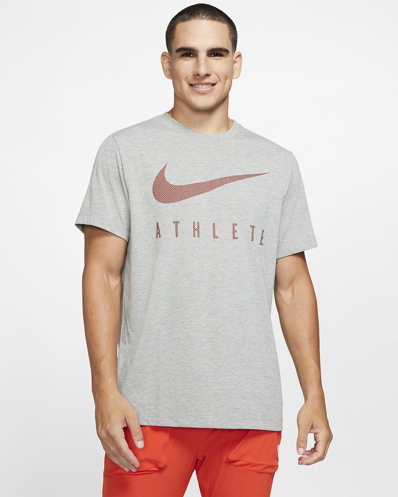 Playera de entrenamiento Swoosh para hombre Nike Dri-FIT