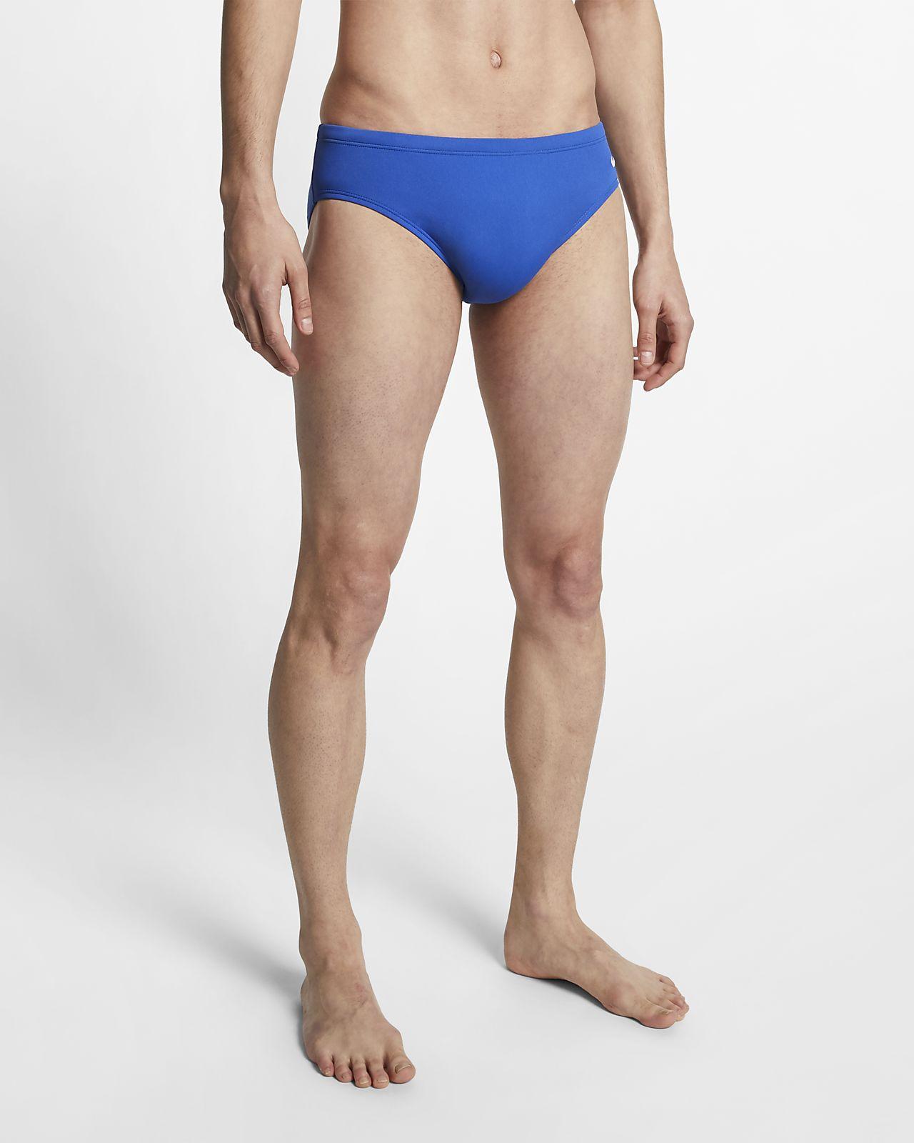 Nike Poly Solid Men's Swim Briefs