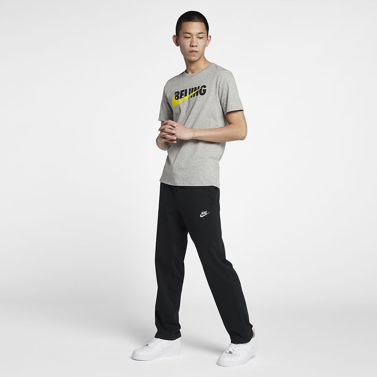 ... Nike Sportswear Men's Standard Fit Knit Trousers