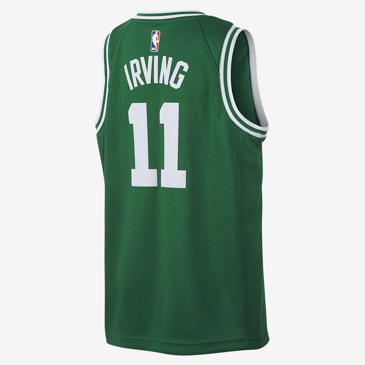 online store ddaaf dd1e9 Kyrie Irving Boston Celtics Nike Icon Edition Swingman NBA-Trikot für Kinder