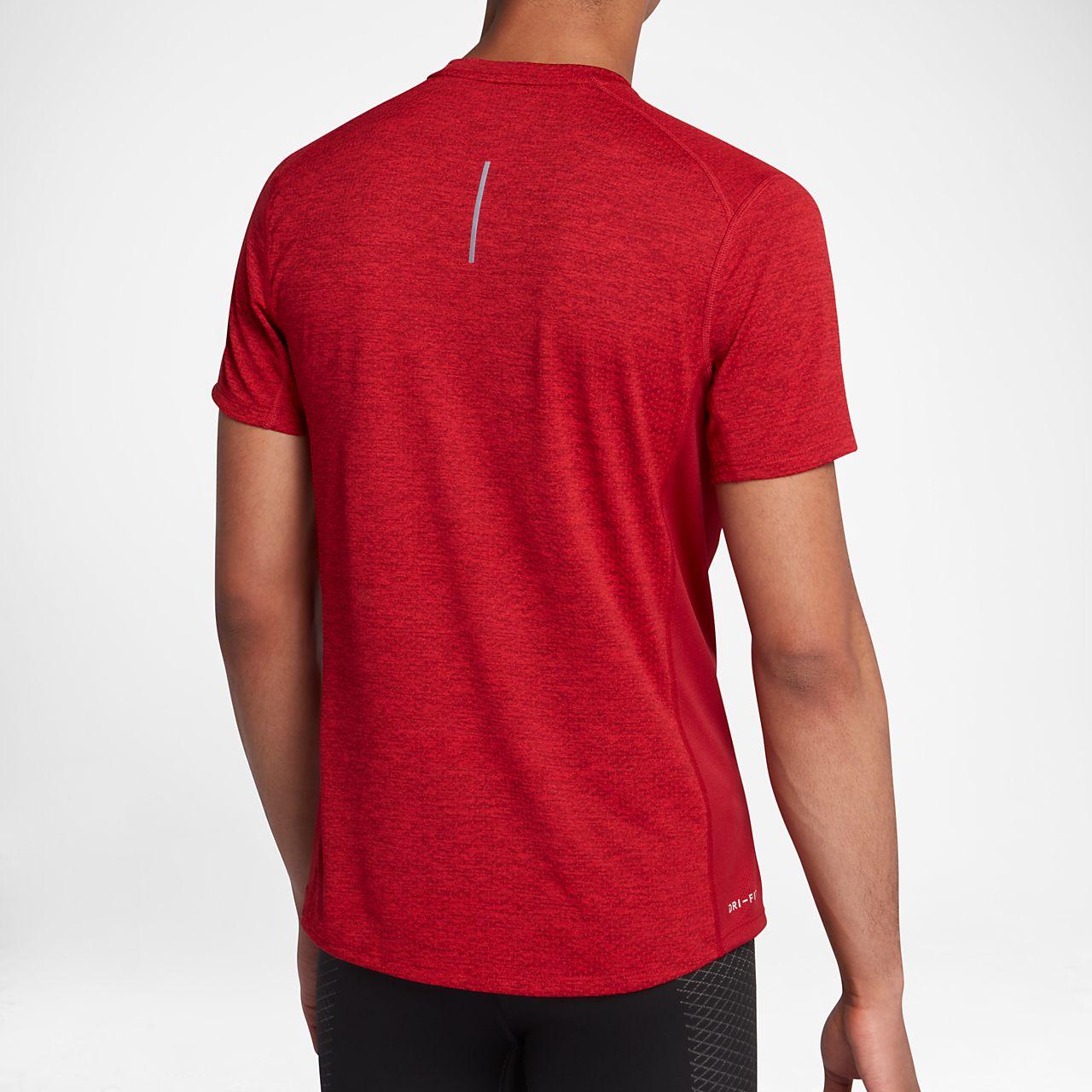 ... Nike Cool Miler Men's Short-Sleeve Running Top