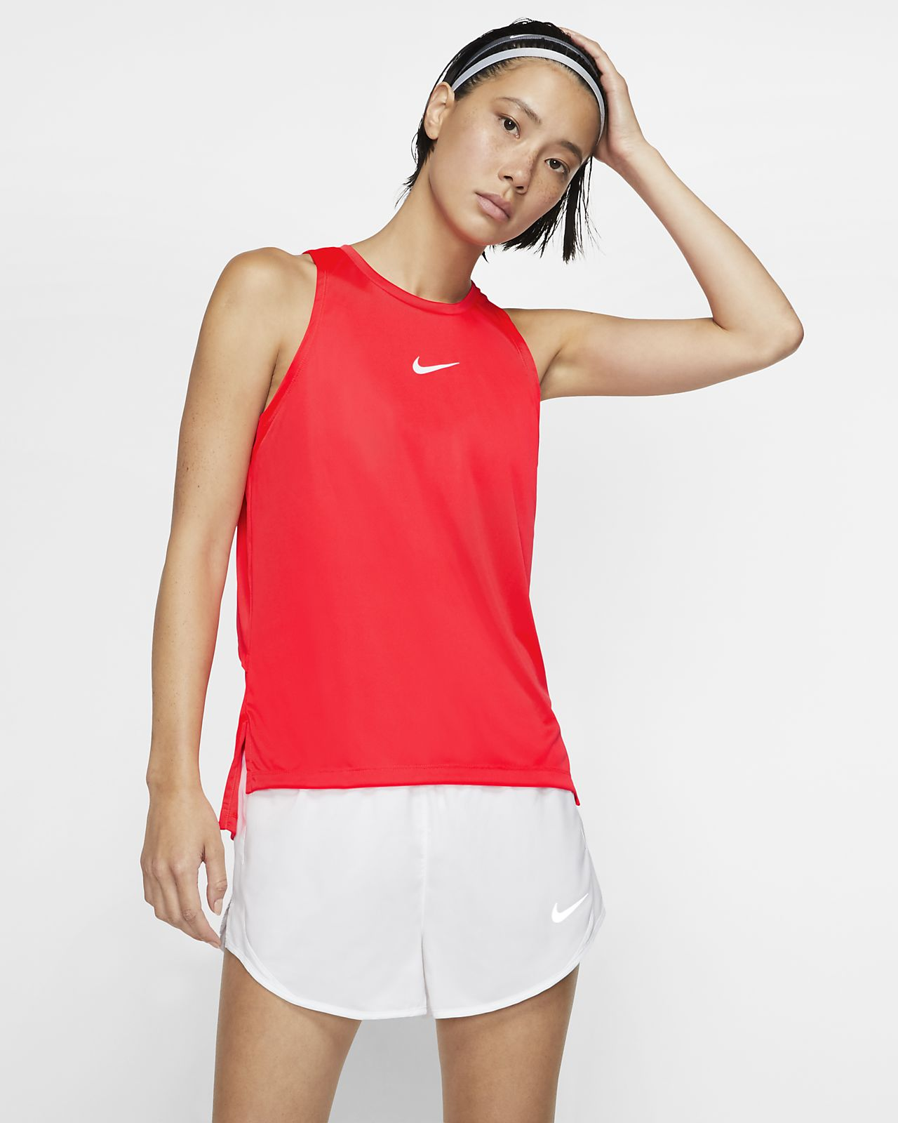Nike Dri-FIT 女款圖案跑步背心