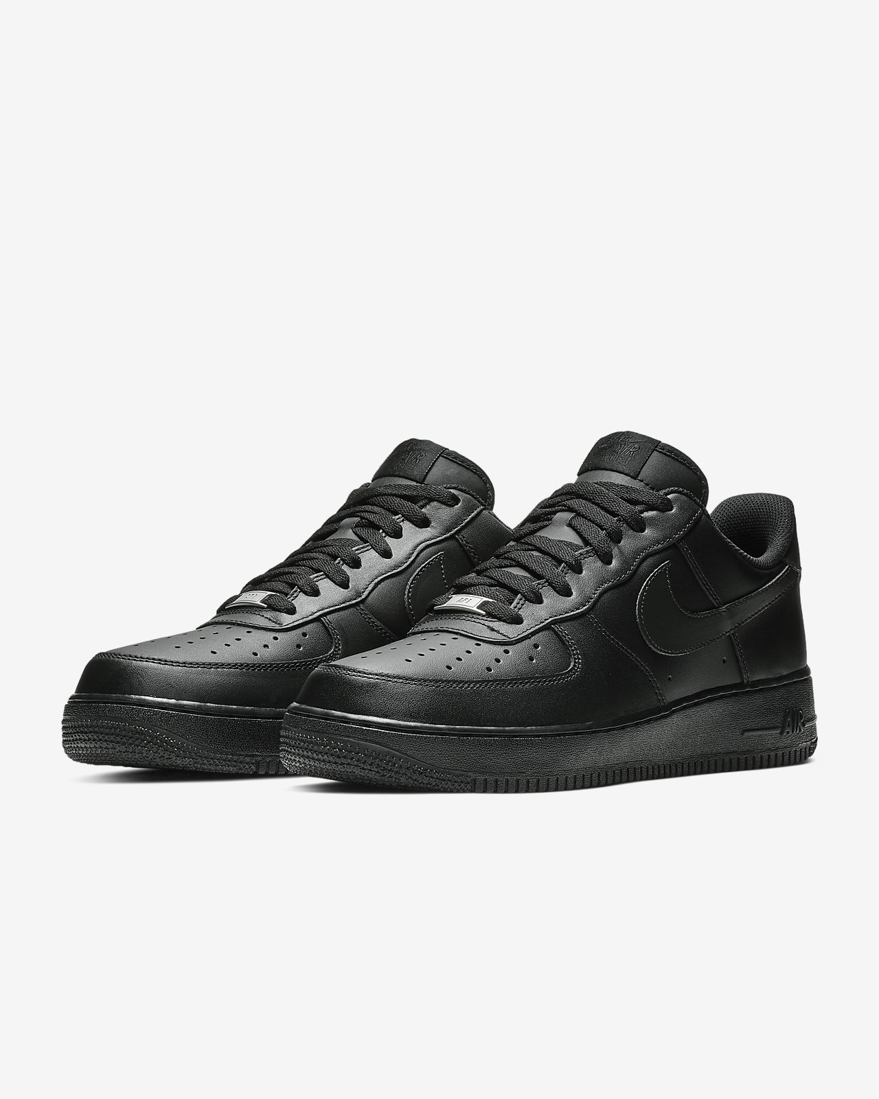 Nike Air Force 1 '07 Triple Black Men's Shoe