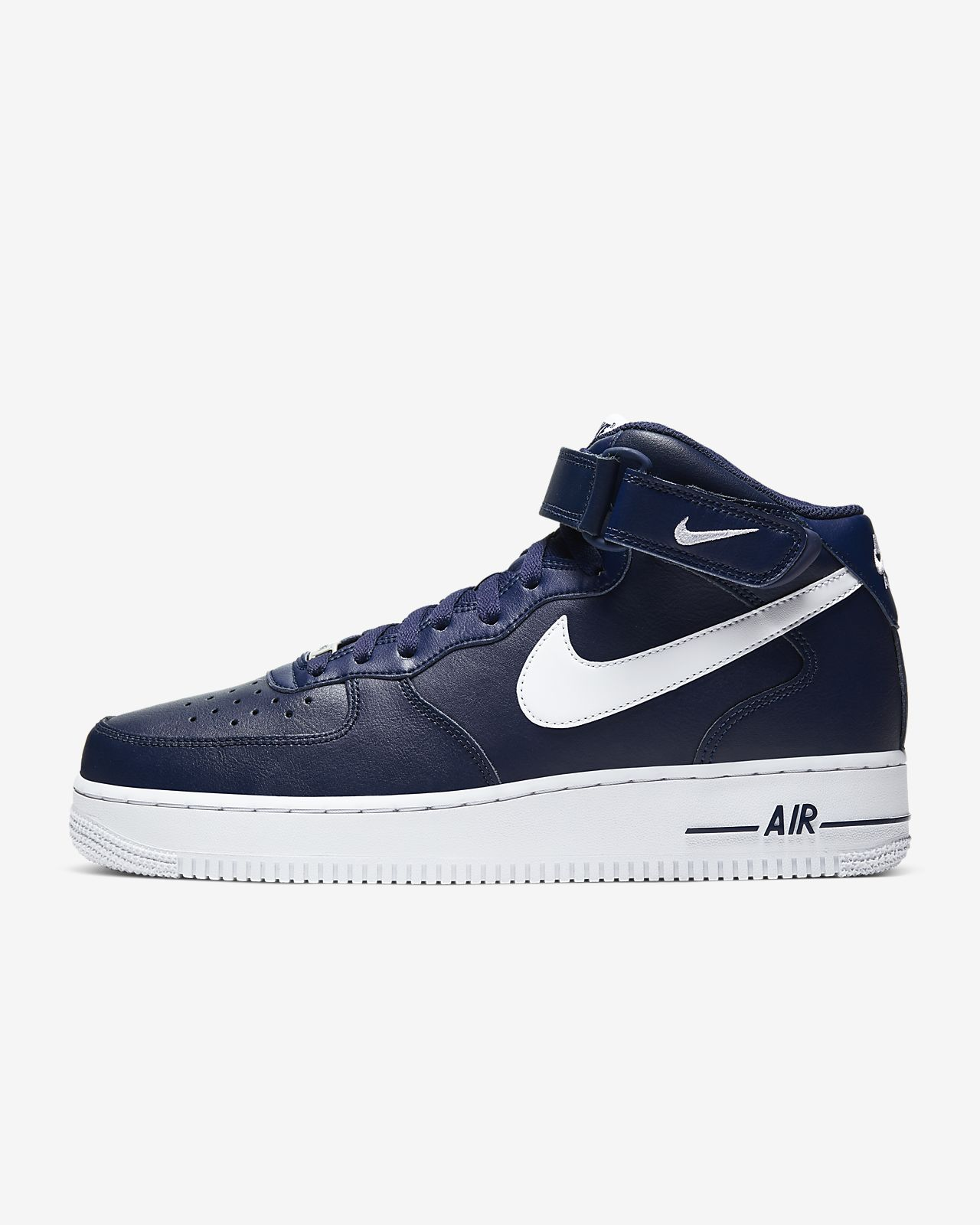Nike Air Force 1 Mid '07 Lv8 Herren Basketballschuhe Weiß
