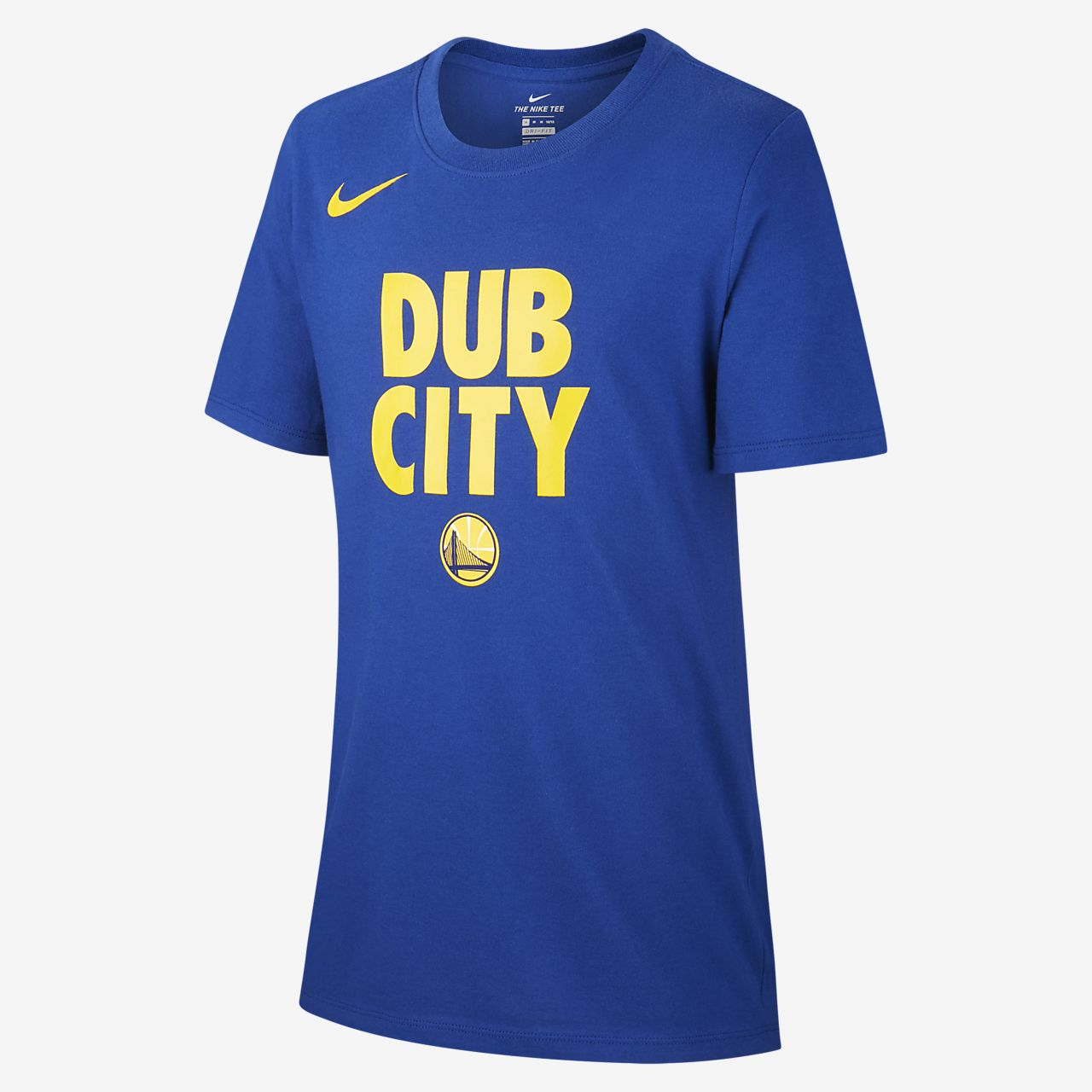T-shirt dla chłopców NBA Golden State Warriors Nike Dri-FIT
