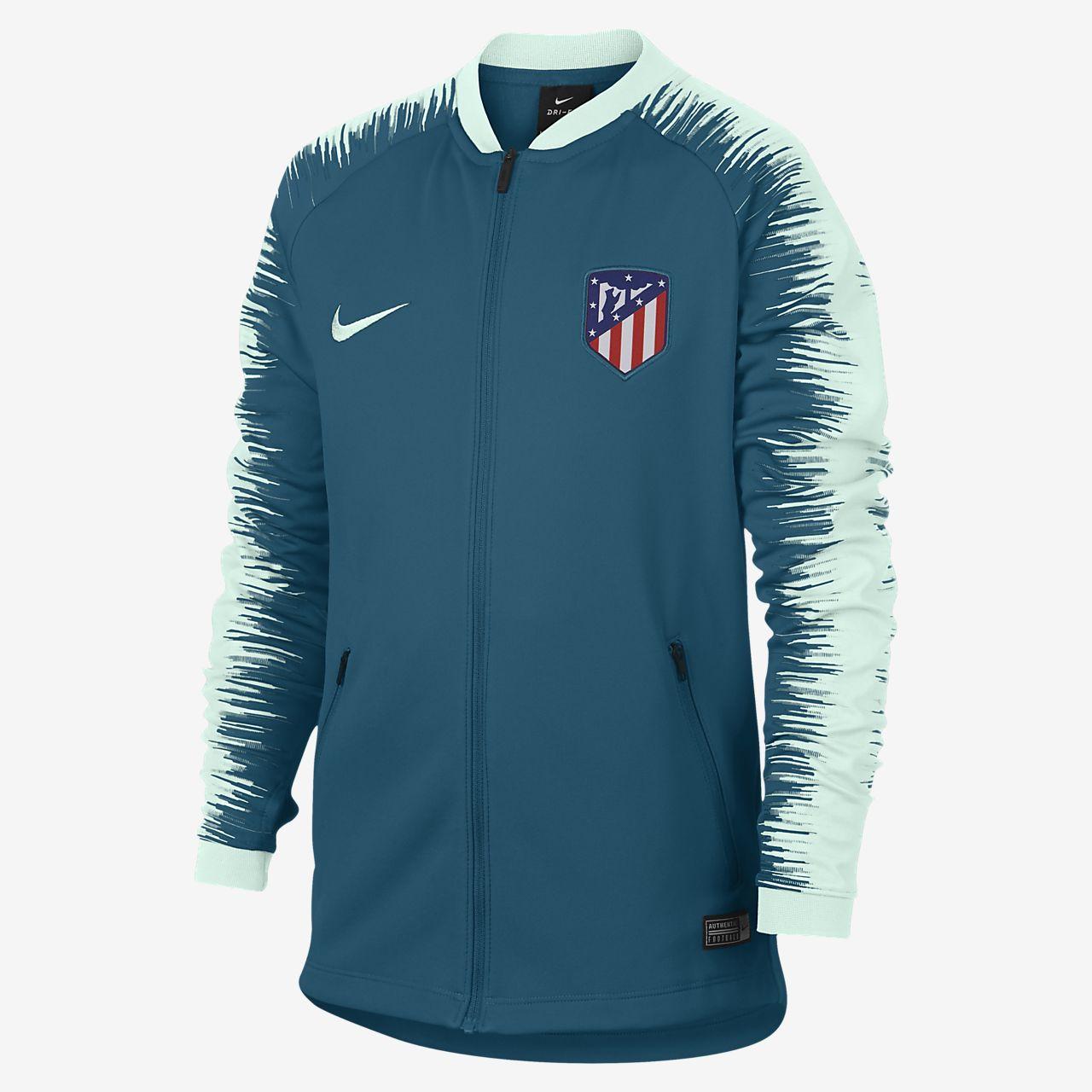 6593d0ac97033 Veste de football Atletico de Madrid Anthem pour Enfant plus âgé ...