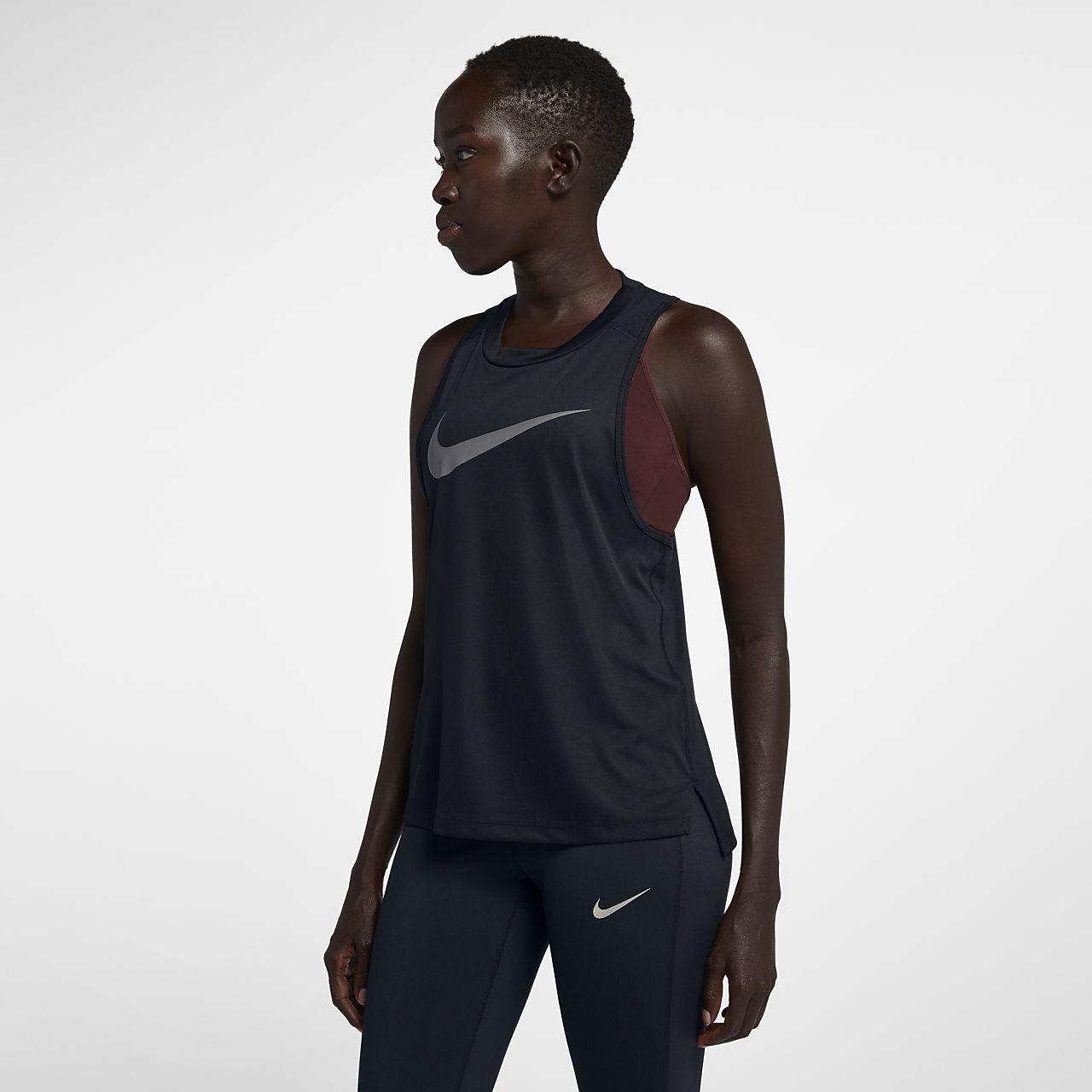 nike donna running canotta  Canotta da running Nike Miler - Donna.  CH