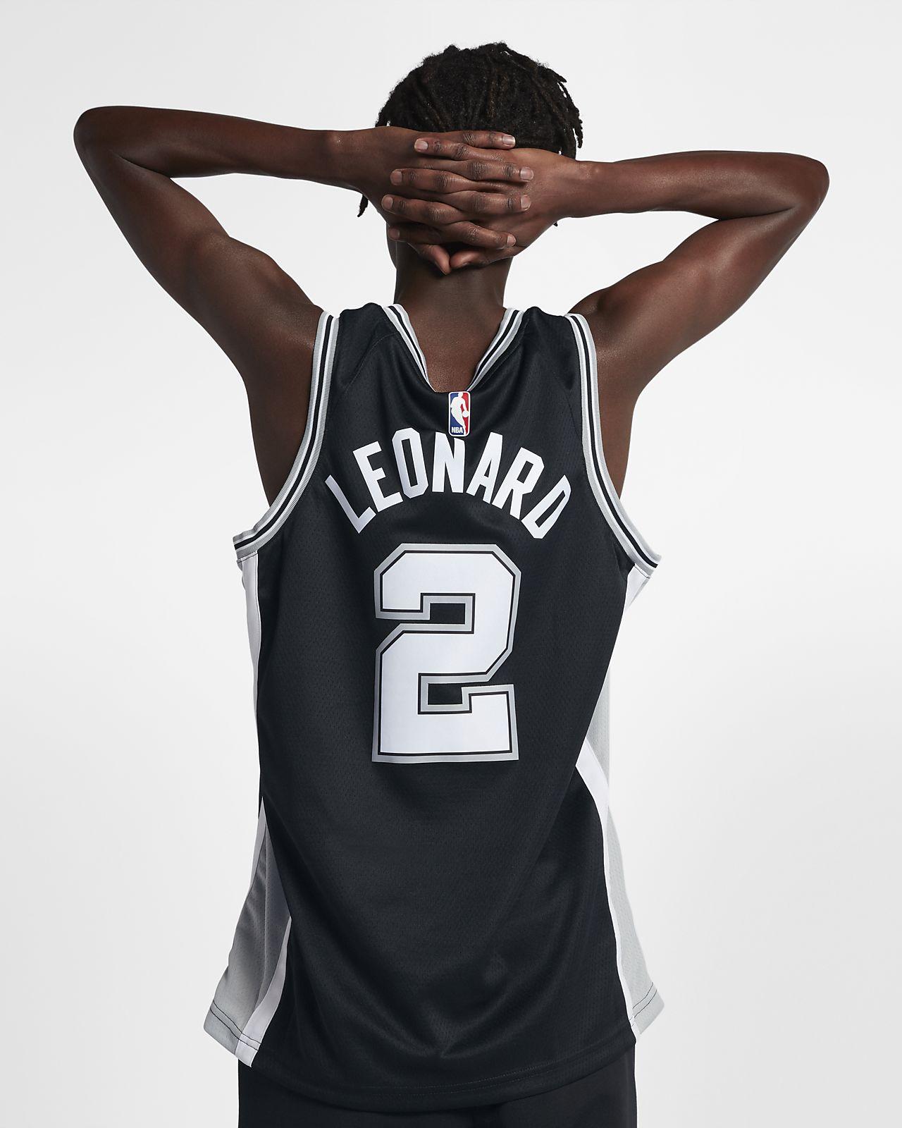 0b9ec65138f ... Kawhi Leonard Icon Edition Swingman (San Antonio Spurs) Men's Nike NBA  Connected Jersey