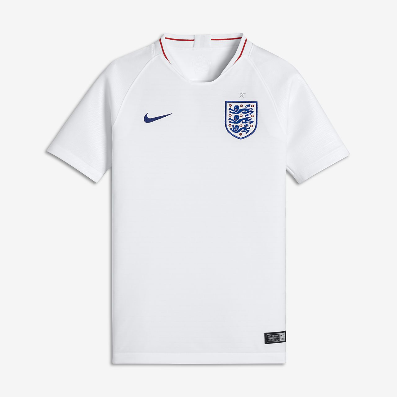 2018 England Stadium Home Older Kids' Football Shirt