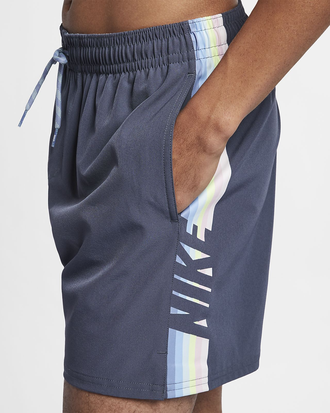 Nike Swim Retro Stripe Lap Men's 13cm (approx.) Swimming Trunks