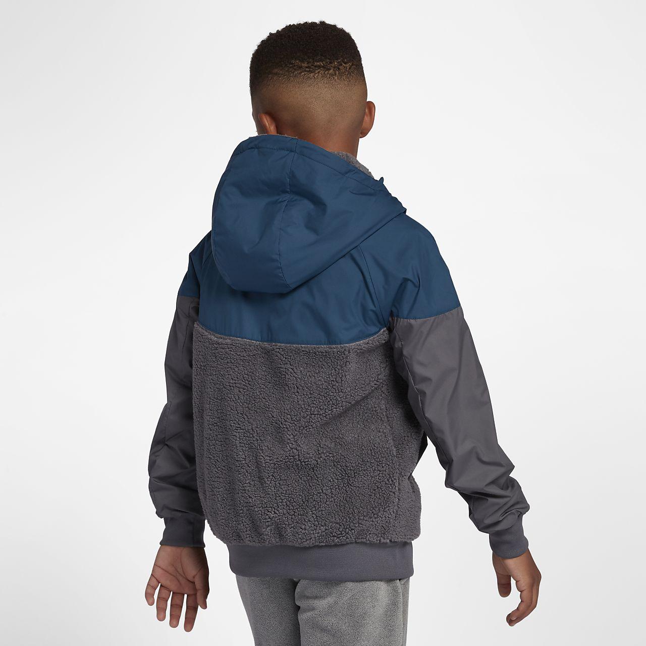 7e9853e24da9 Nike Sportswear Windrunner Boys  Sherpa Jacket. Nike.com