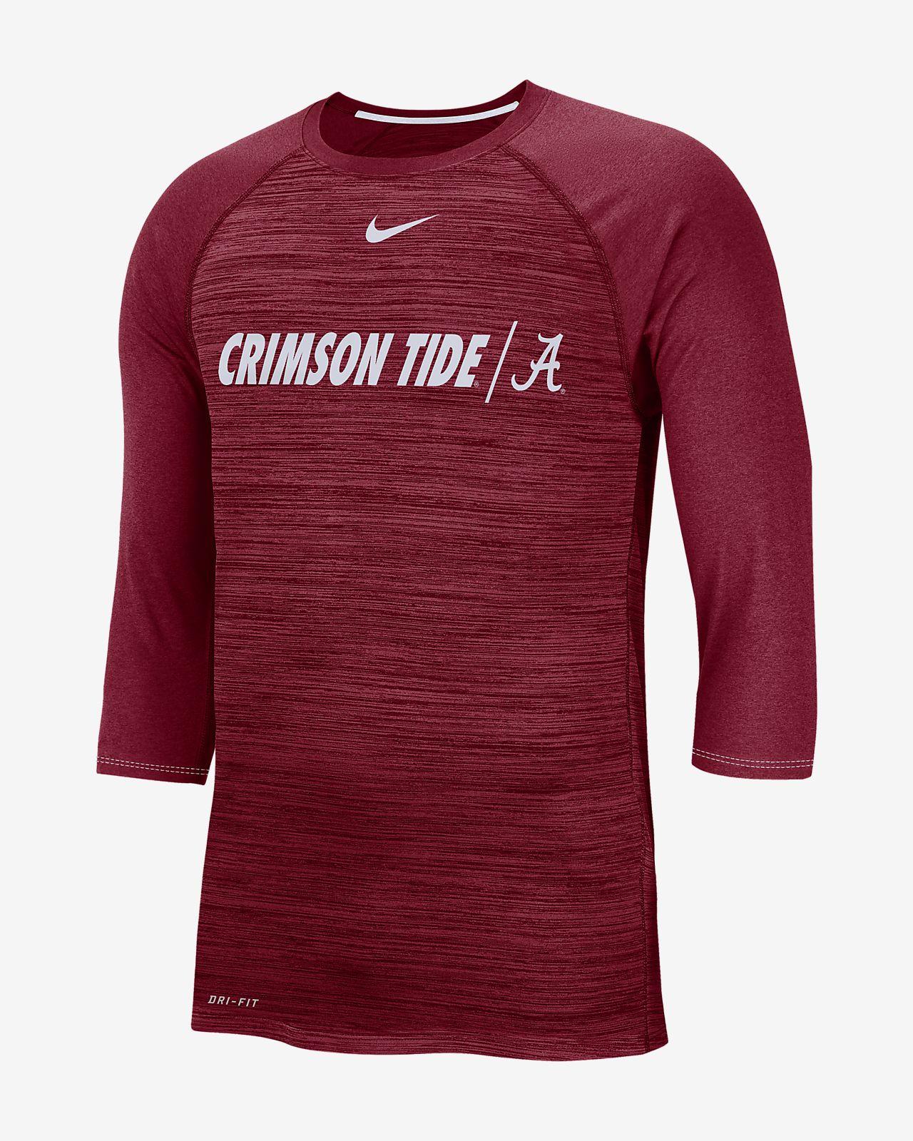 11a663bc70d8 Nike College Dri-FIT Legend (Alabama) Men s 3 4-Sleeve Top. Nike.com