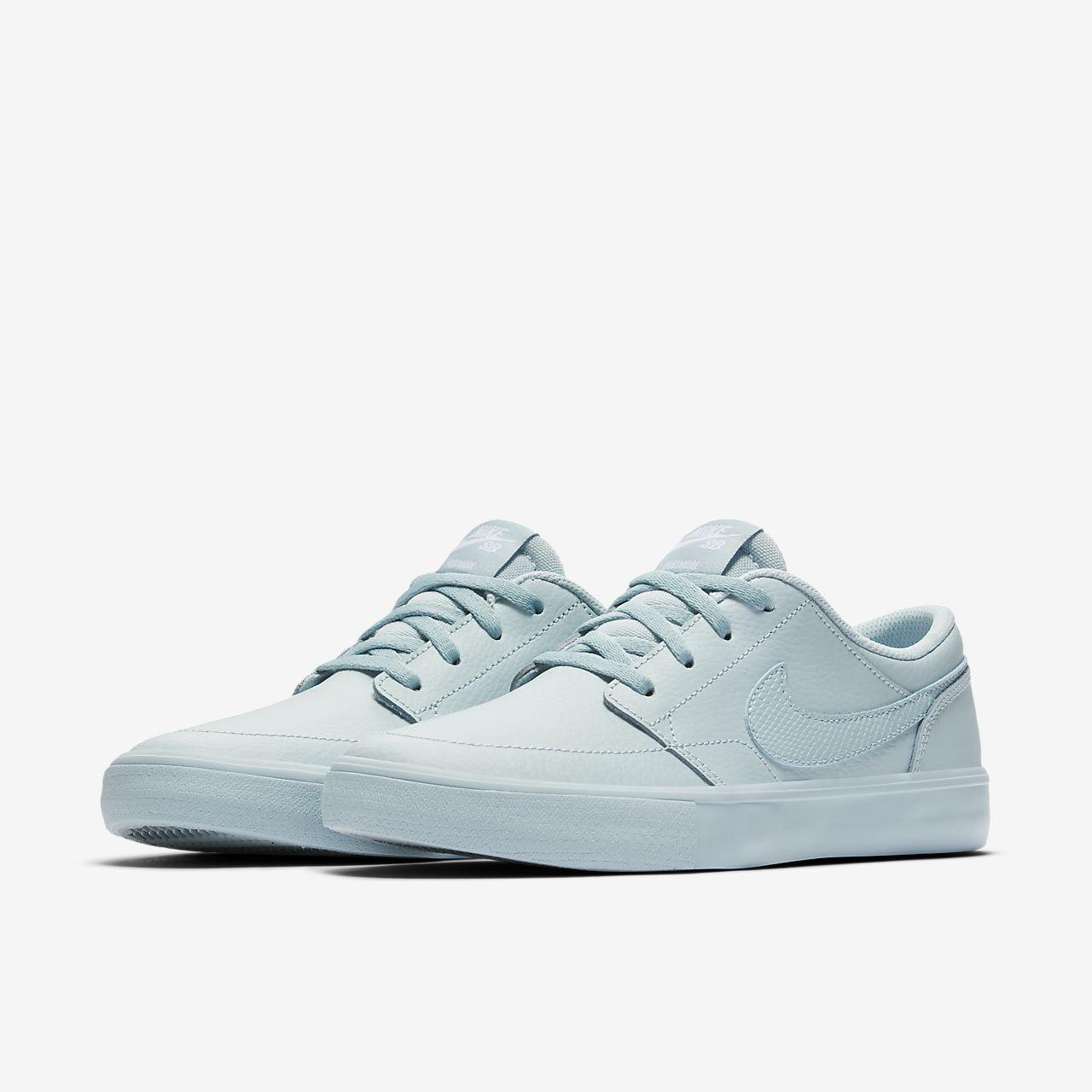 Nike SB Portmore II Women's Skateboarding Shoes Blue sJ7687R
