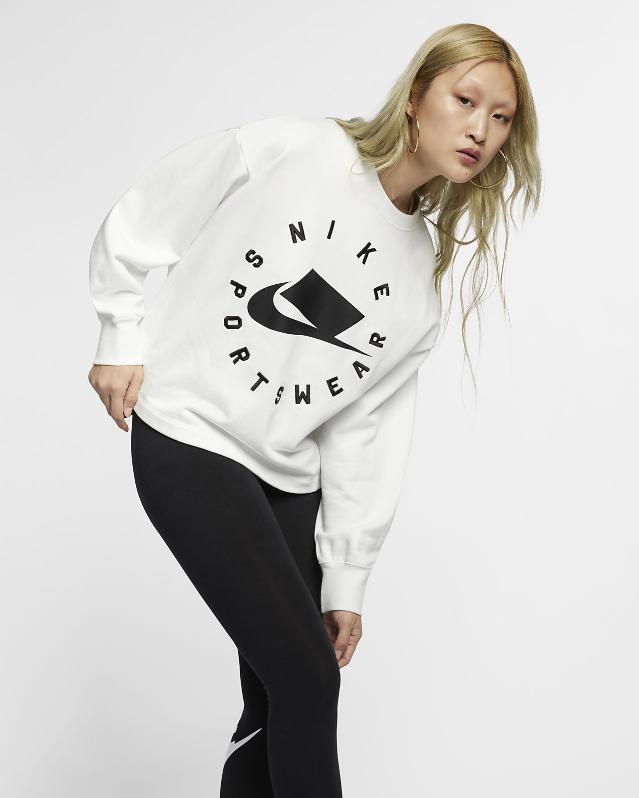 Nike Sportswear NSW Fransız Havlu Kumaşı Kadın Crew Üst