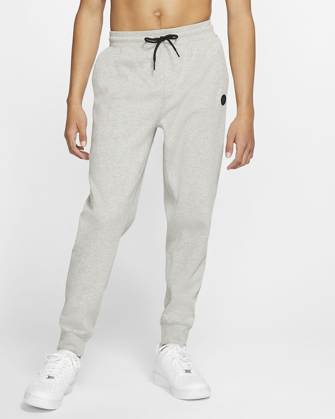 Pantalones de entrenamiento de tejido Fleece para hombre Hurley Therma Protect