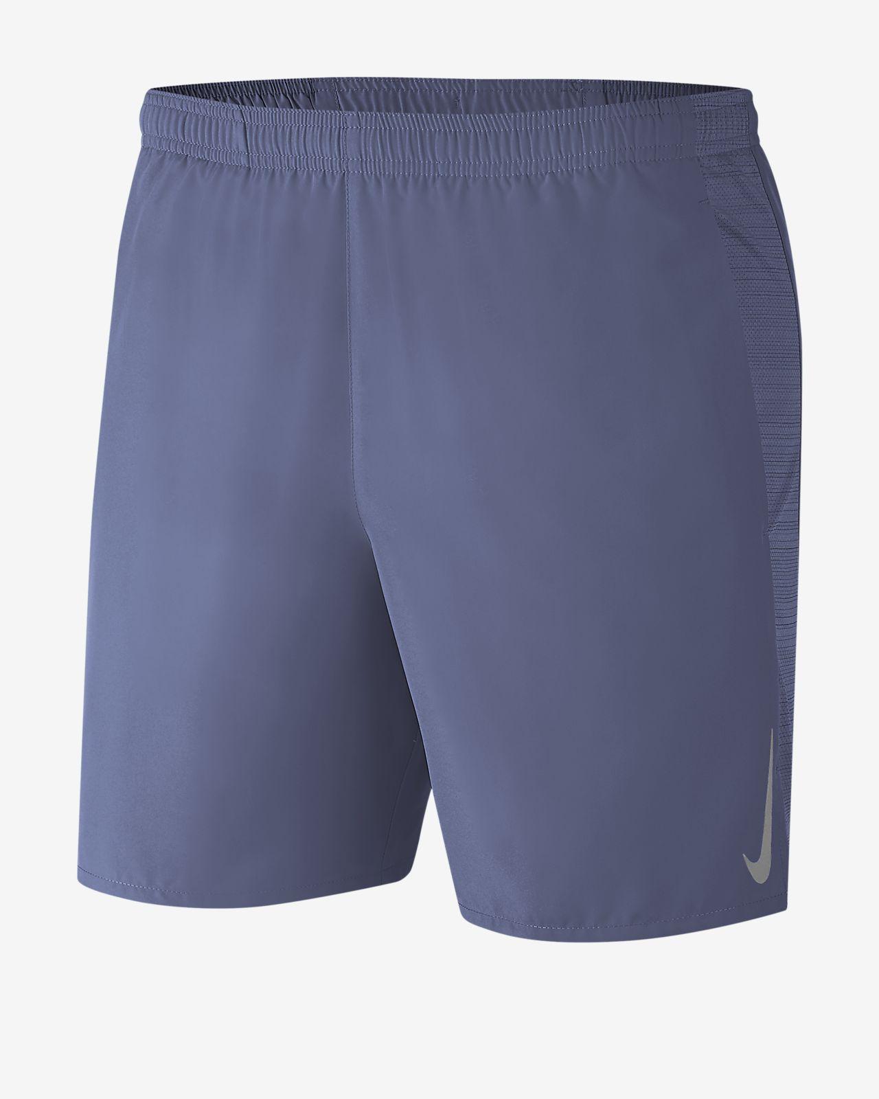 "Nike Challenger 男款 7"" 二合一跑步短褲"