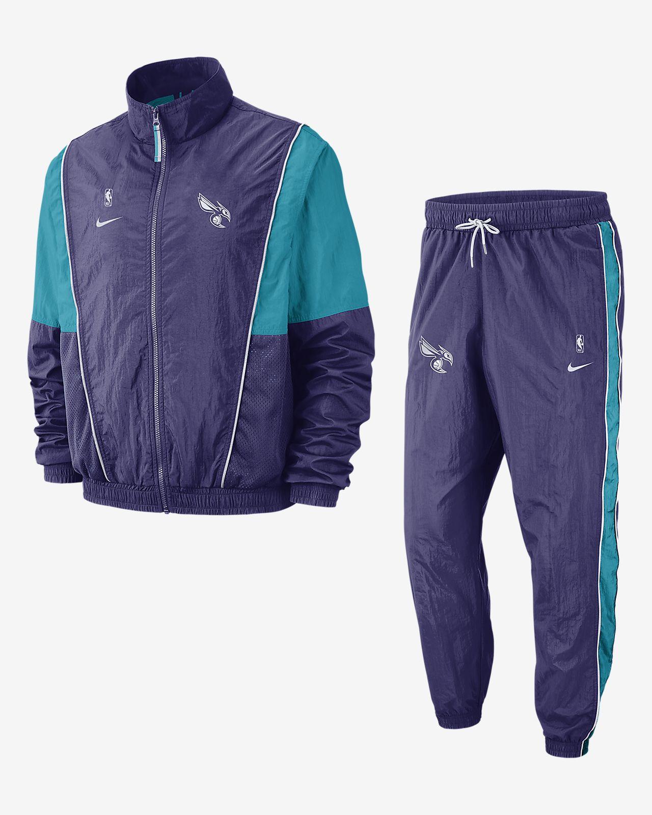 Charlotte Hornets Nike NBA-Trainingsanzug für Herren