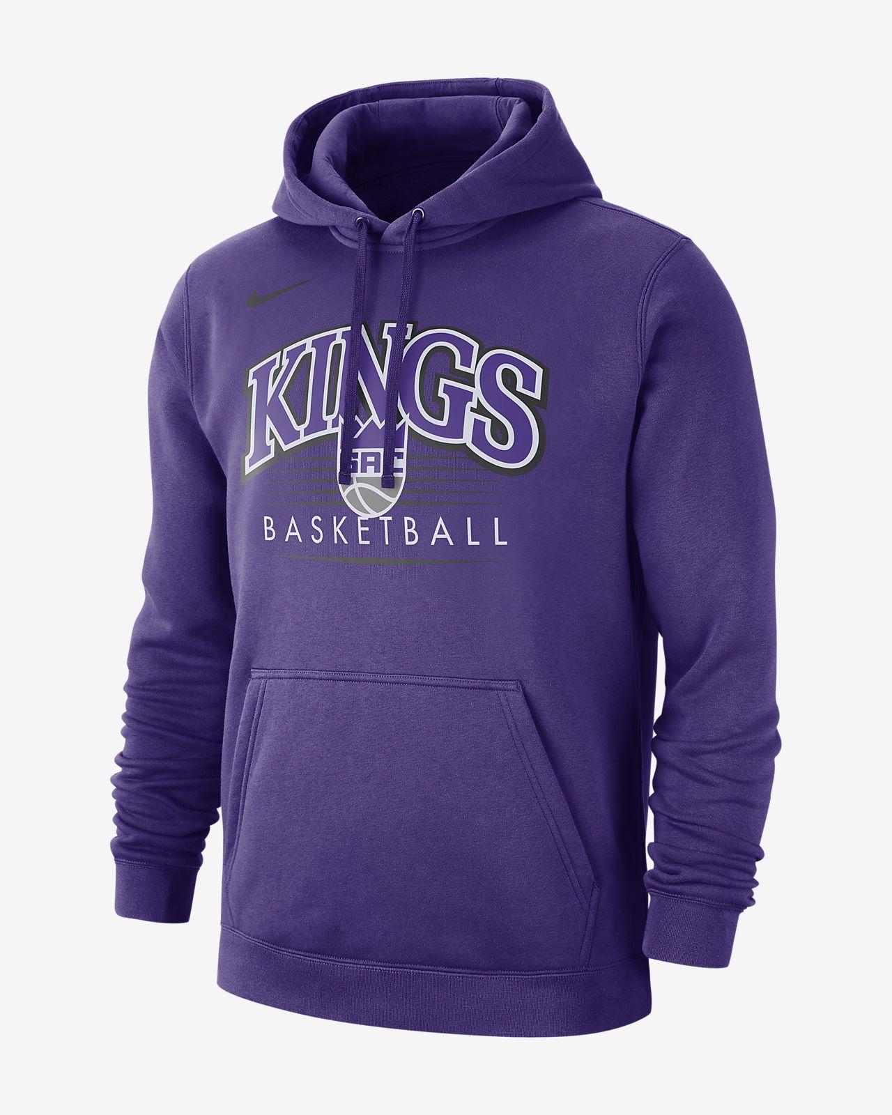 Ανδρική μπλούζα με κουκούλα NBA Sacramento Kings Nike