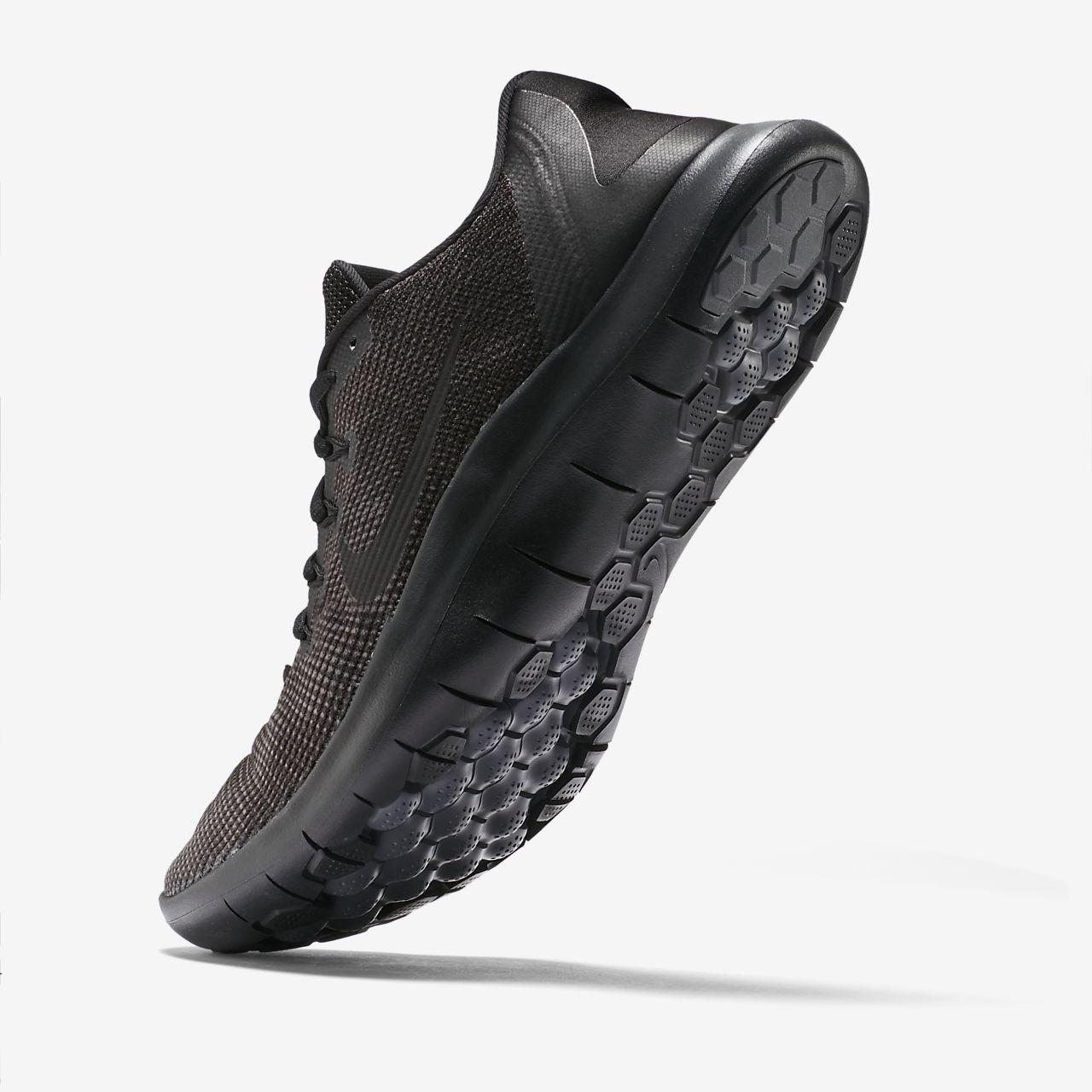 Nike Course 2018 Flex Formateurs En Triple Aa7397-002 Noir - Noir vSKdeAG5yZ