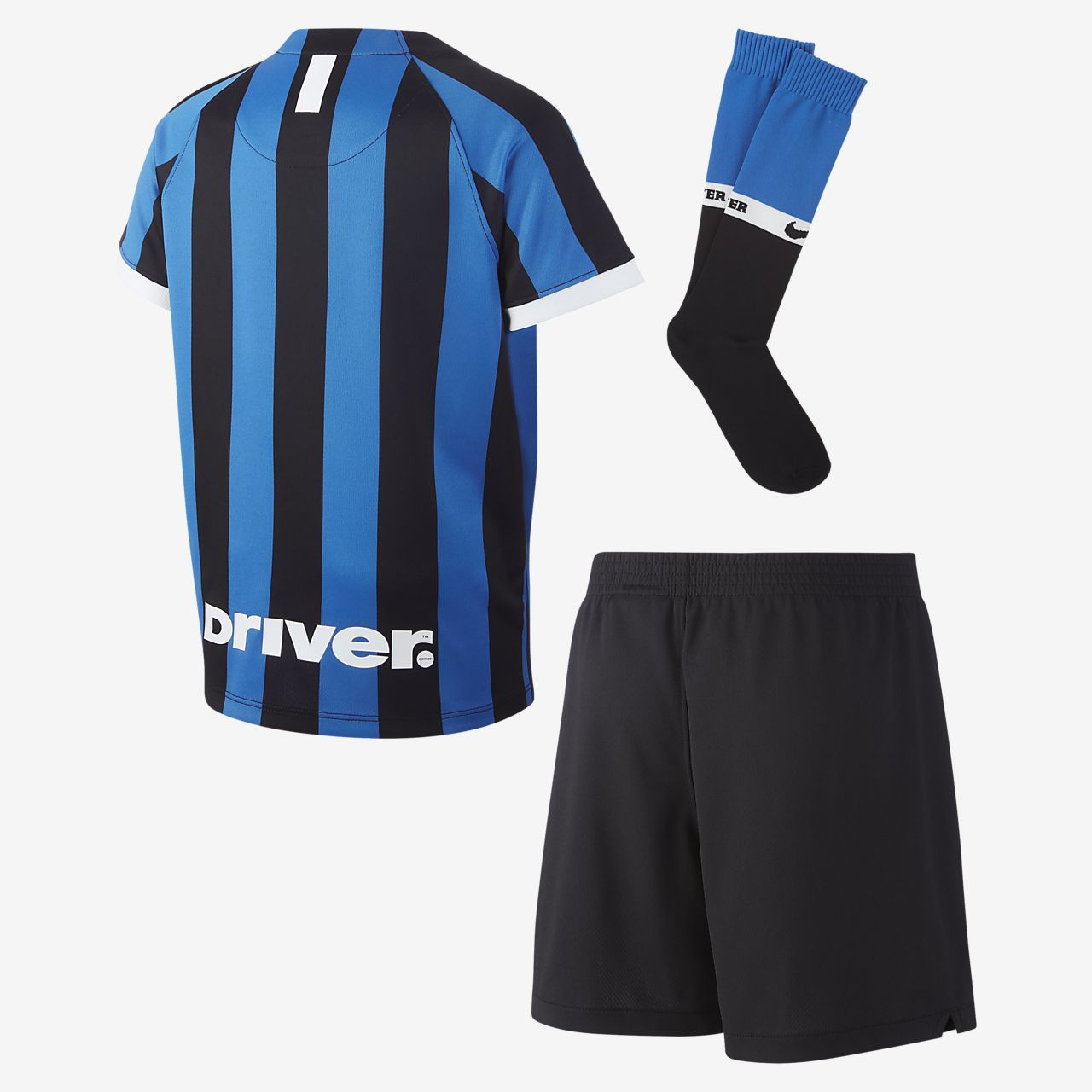 cb3cff203fc Inter Milan 2019/20 Home Younger Kids' Football Kit. Nike.com SE