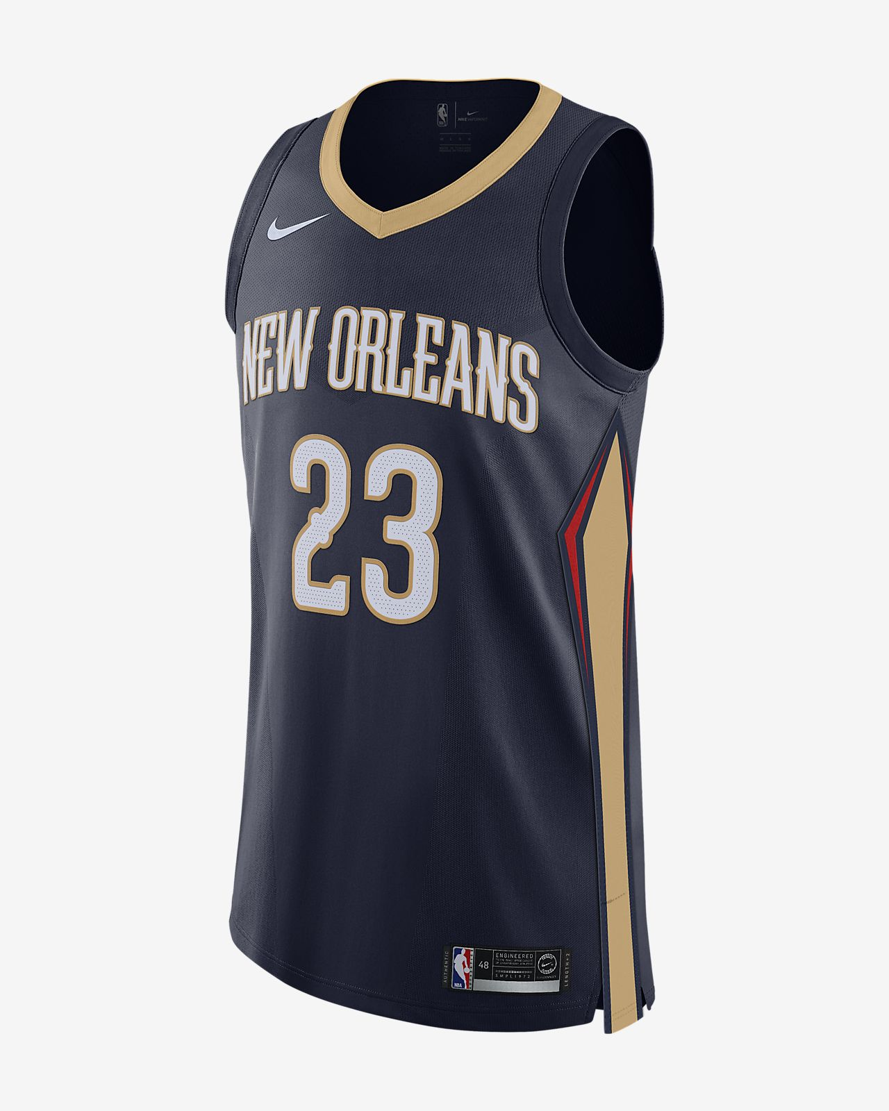 d61fd4a1aca ... Anthony Davis Icon Edition Authentic (New Orleans Pelicans) Men's Nike  NBA Connected Jersey