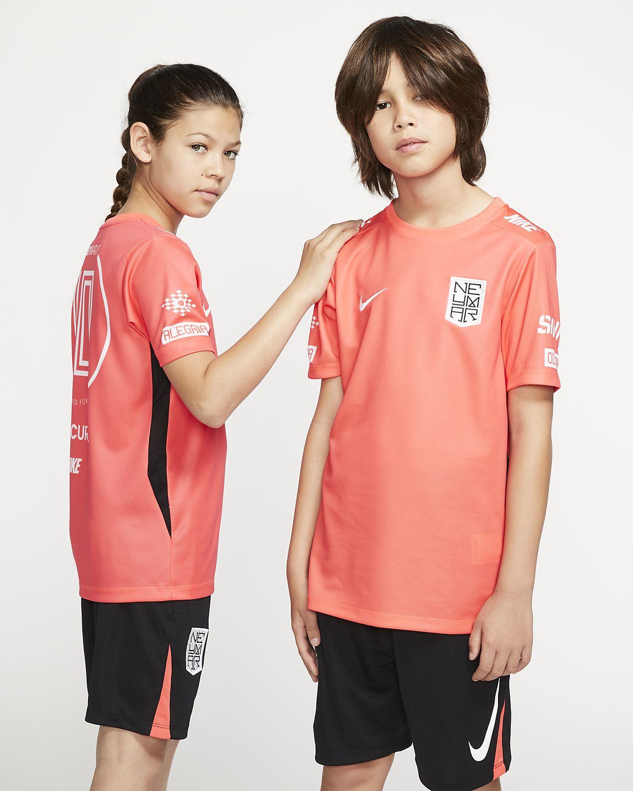 Κοντομάνικη ποδοσφαιρική μπλούζα Nike Dri-FIT Neymar Jr. για μεγάλα παιδιά
