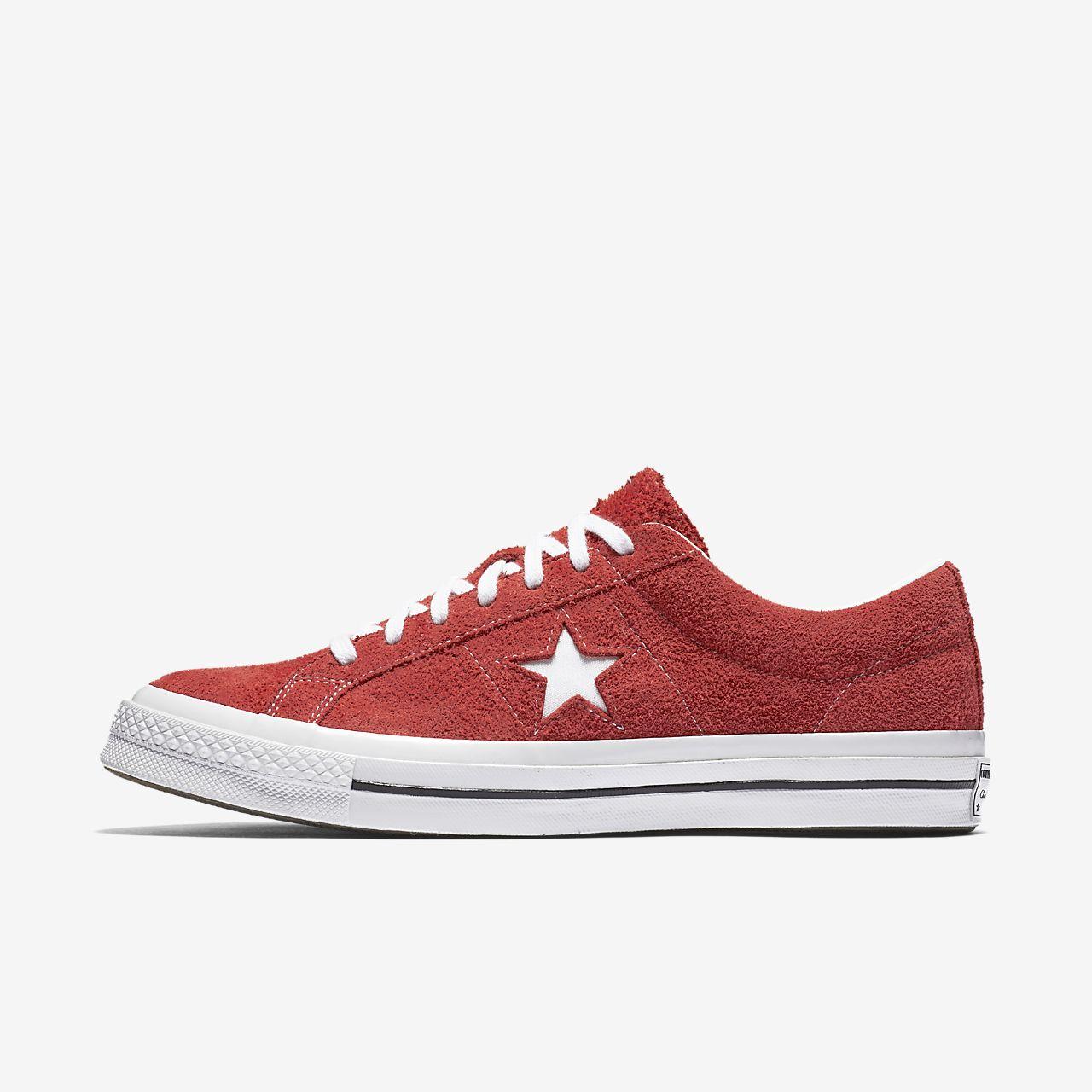 Converse One Star Premium Suede Low Top Unisex Shoe
