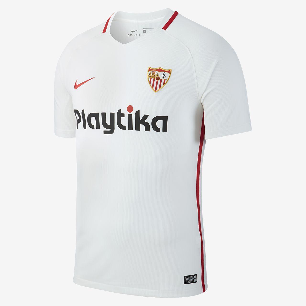 44f541a193f 2018 19 Sevilla FC Stadium Camiseta de fútbol - Hombre. Nike.com ES