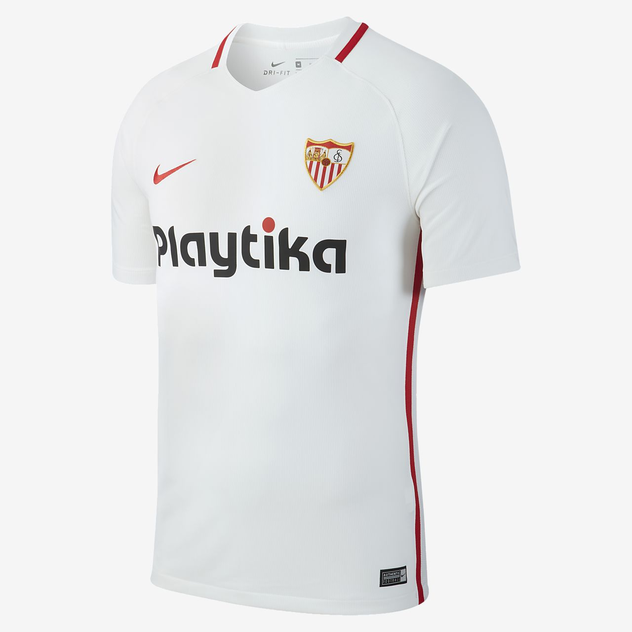 4fe5a3fd1 2018 19 Sevilla FC Stadium Men s Football Shirt. Nike.com GB