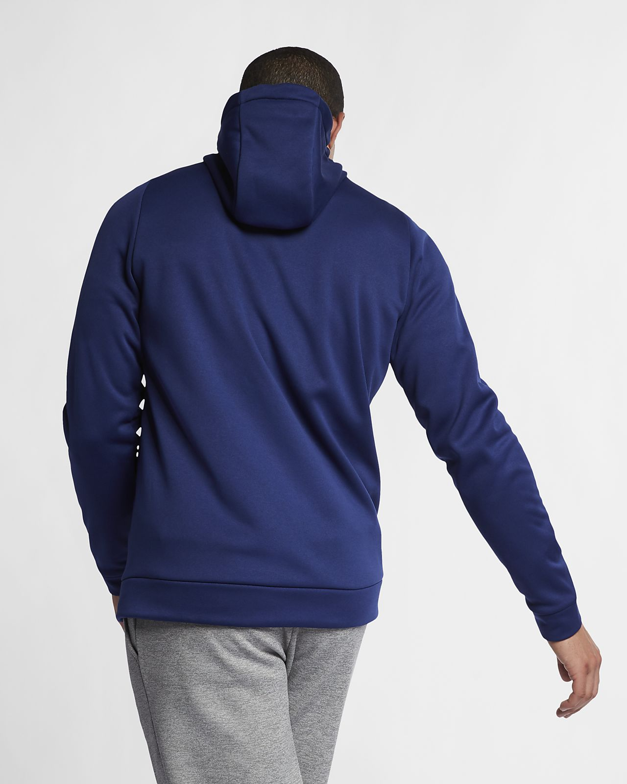 Nike Dri FIT Therma Men's Full Zip Training Hoodie