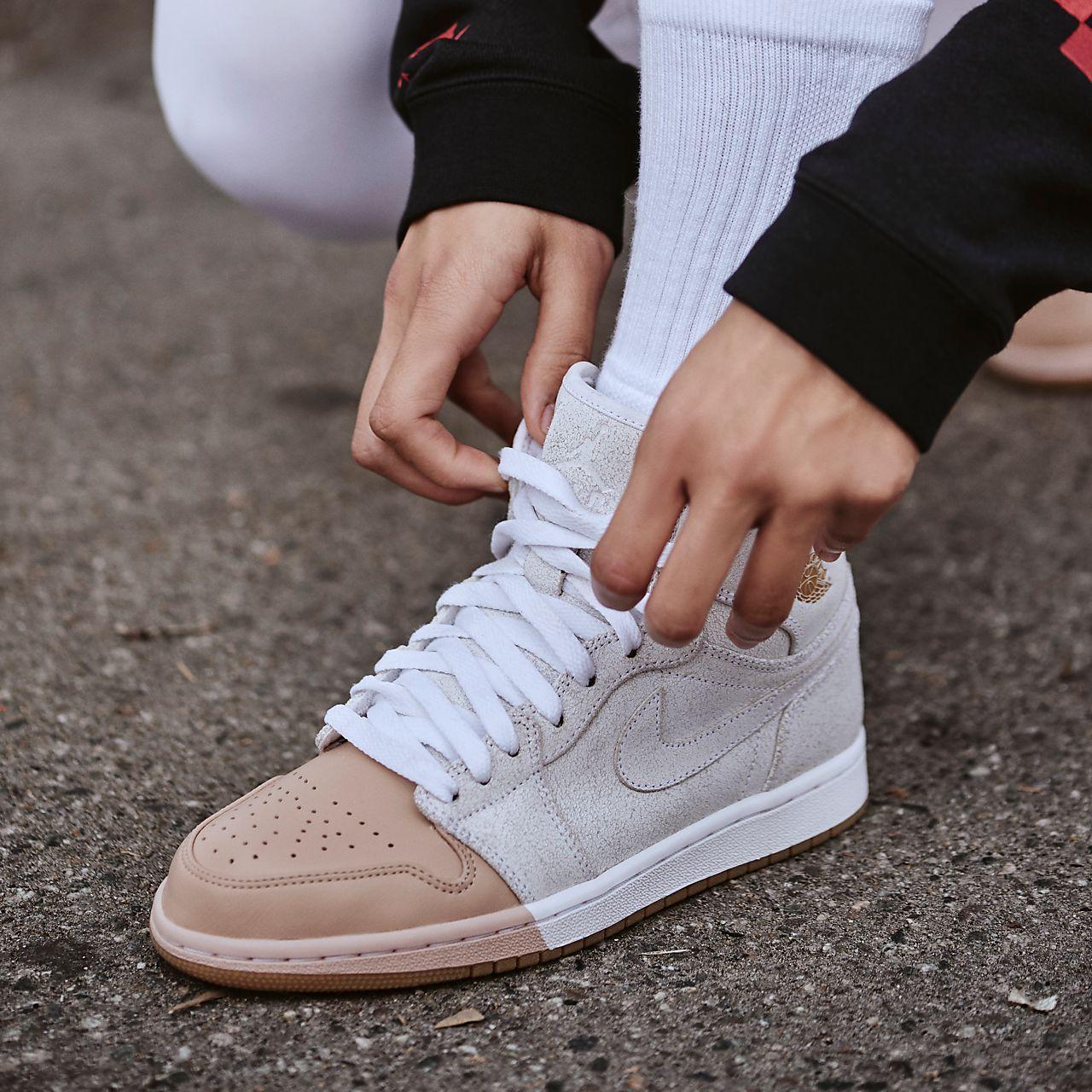 new arrival 676f8 b2556 ... Nike Air Jordan 1 Retro High Premium Women s Shoe