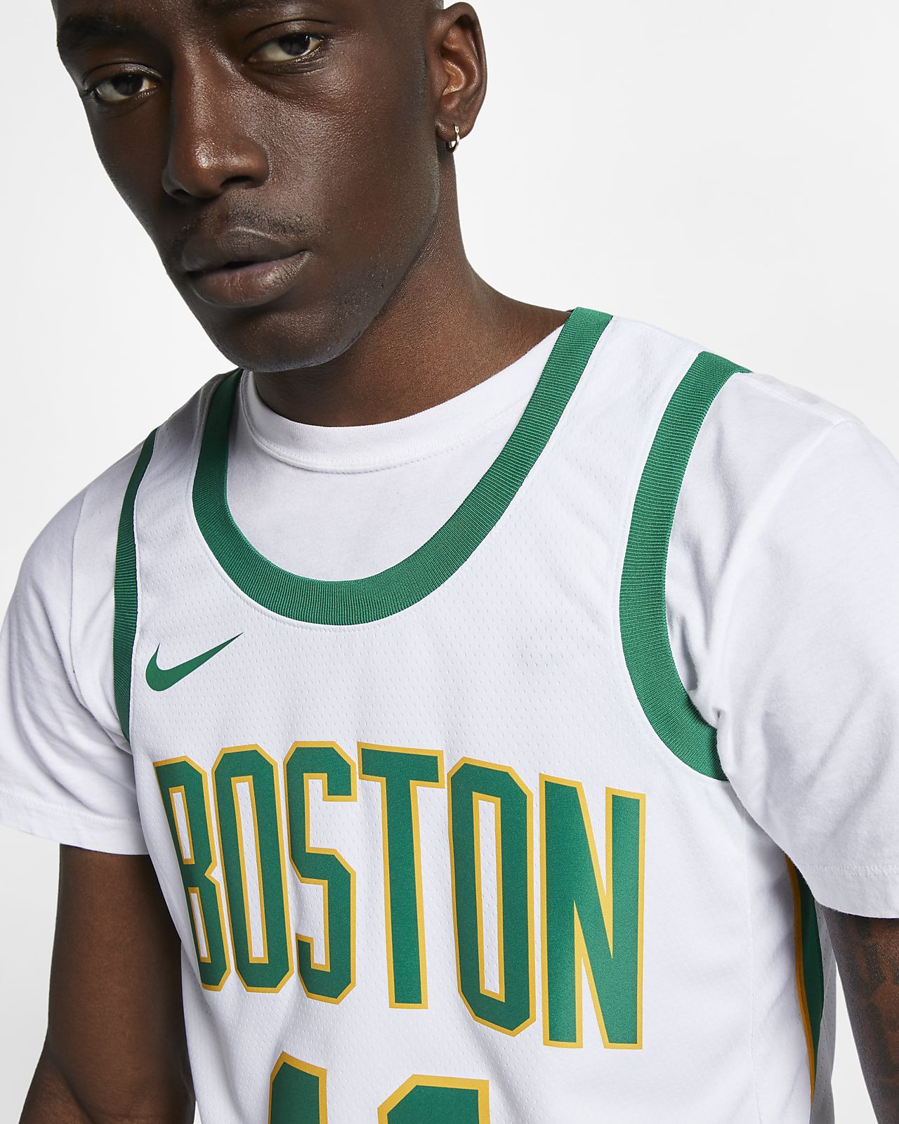 ... Kyrie Irving City Edition Swingman (Boston Celtics) Men s Nike NBA  Connected Jersey 59bfffce4