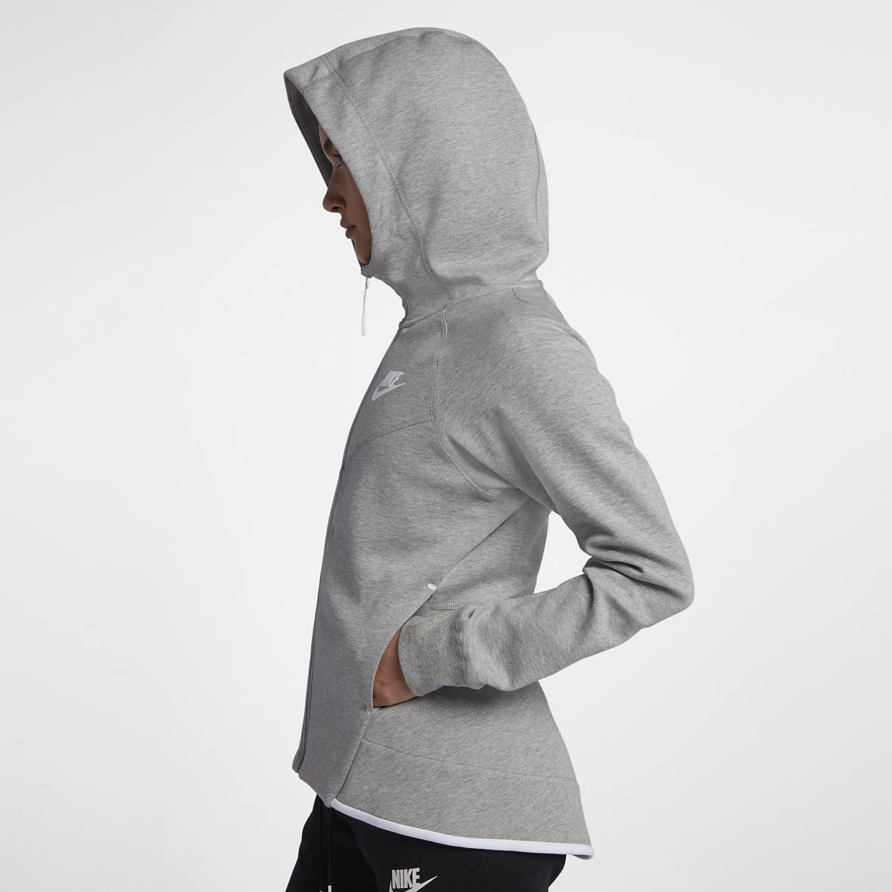 c75991d4a08a Nike Sportswear Tech Fleece Windrunner Women s Full-Zip Hoodie. Nike ...