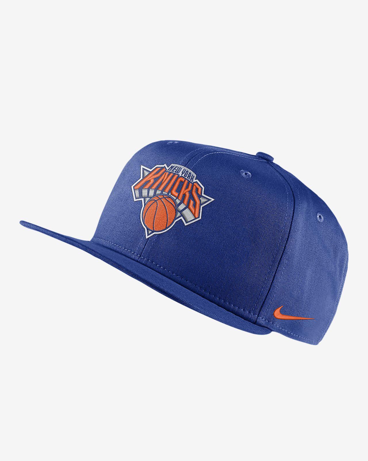 Бейсболка НБА New York Knicks Nike Pro
