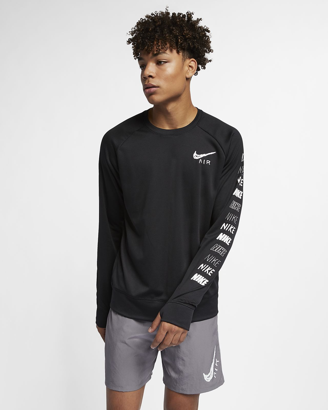 Camisola de running Nike Pacer para homem