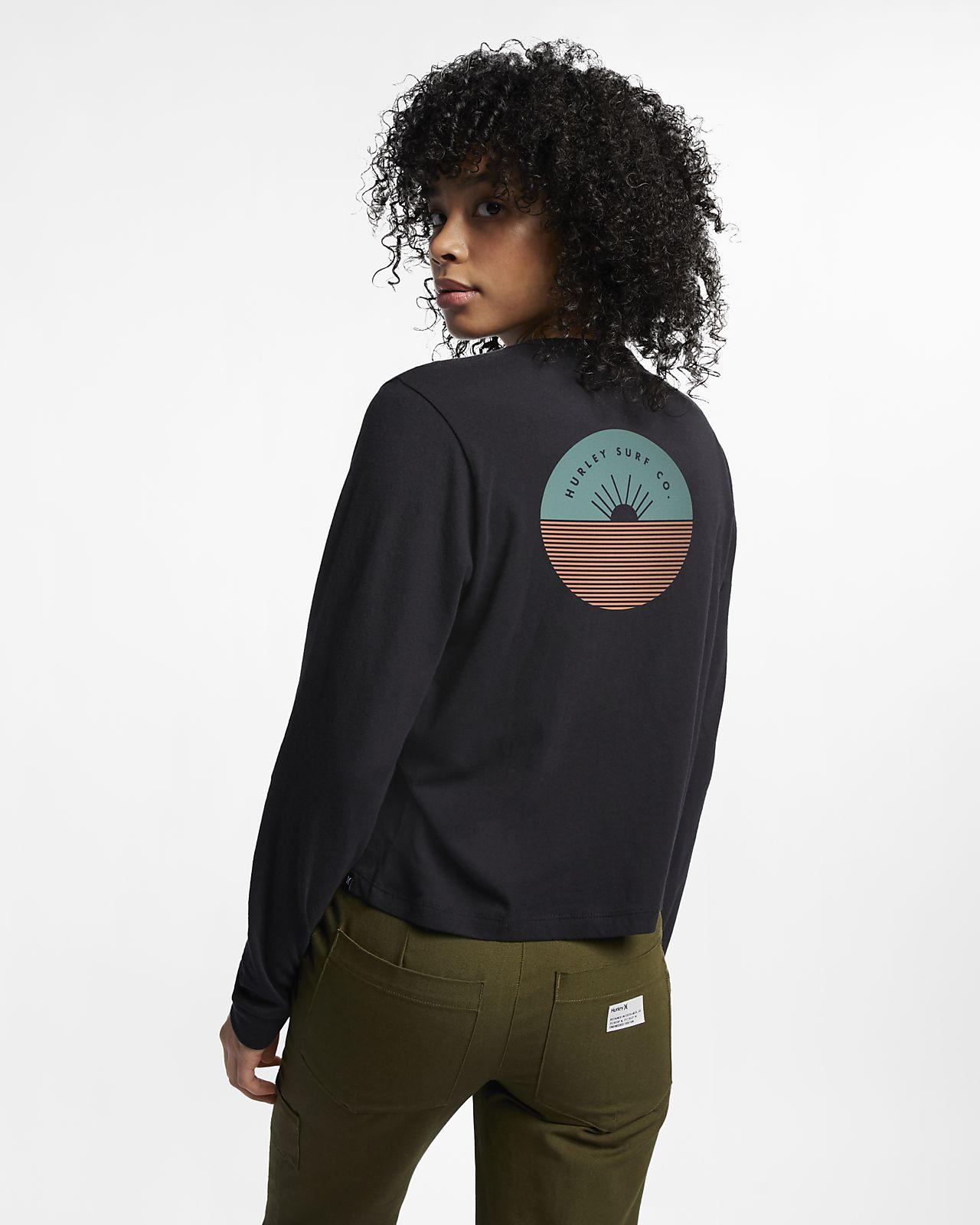 Tee-shirt à manches longues Hurley Horizon Perfect pour Femme