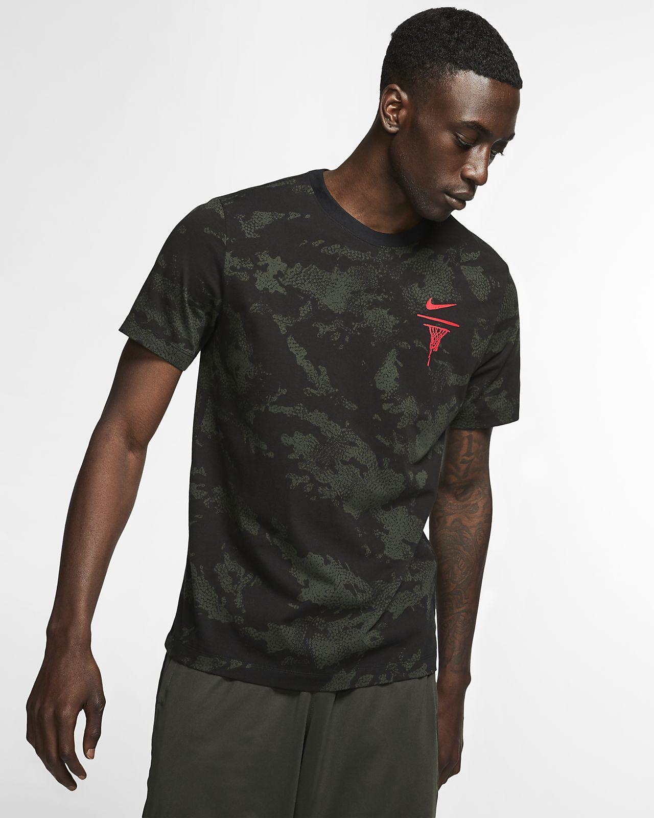 Nike 男子印花篮球T恤