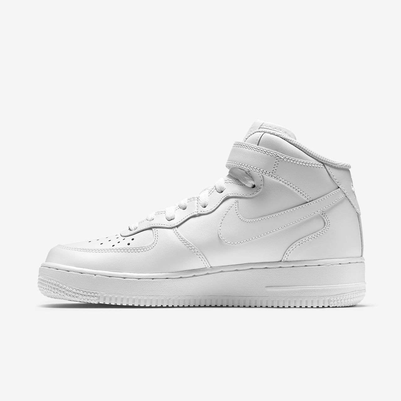 san francisco 874b3 a0238 scarpa nike air force 1 mid  07 bianco bianco 366731-100