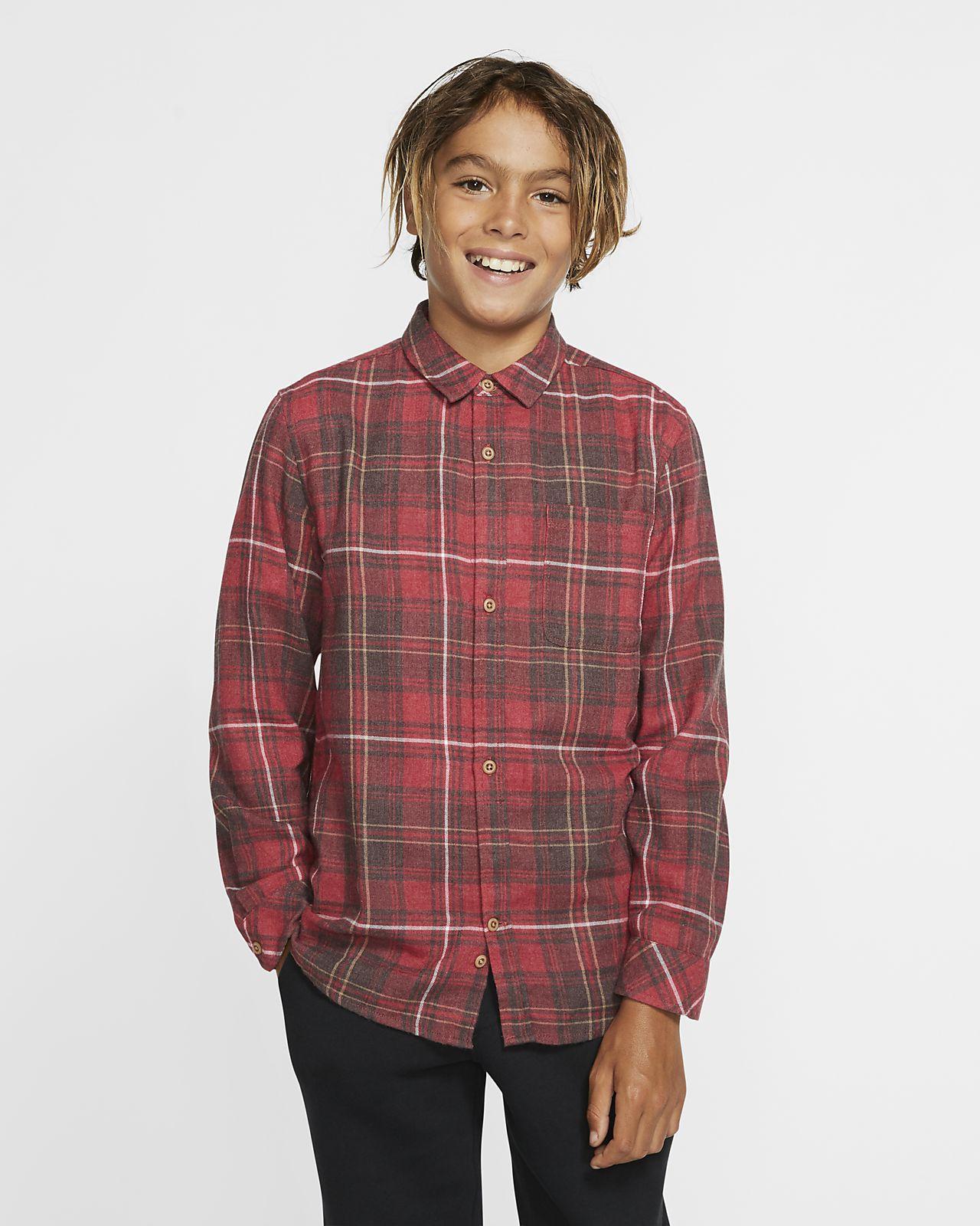 Camiseta manga larga para niño Hurley Vedder Washed