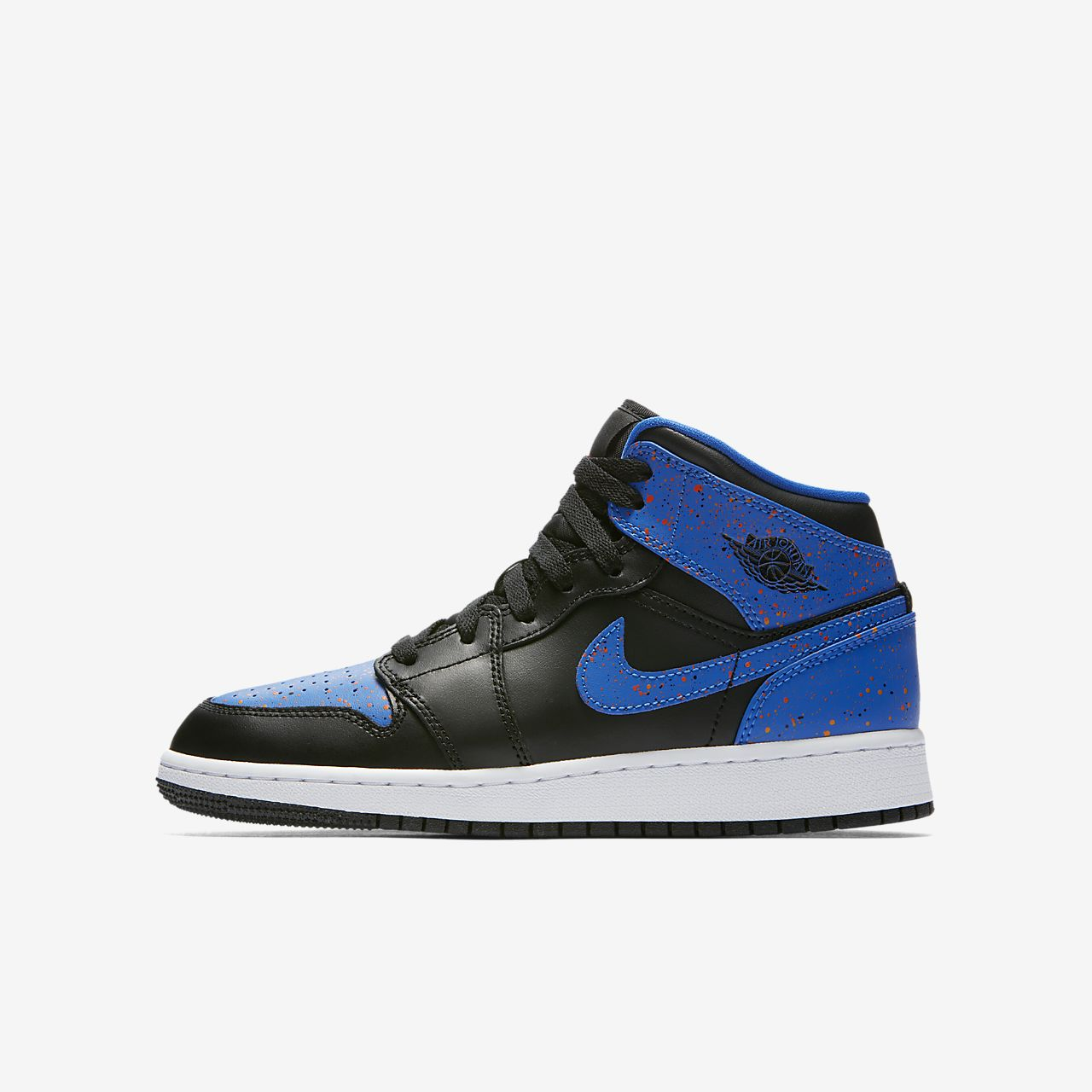 air jordan 1 mid big kids 39 shoe. Black Bedroom Furniture Sets. Home Design Ideas