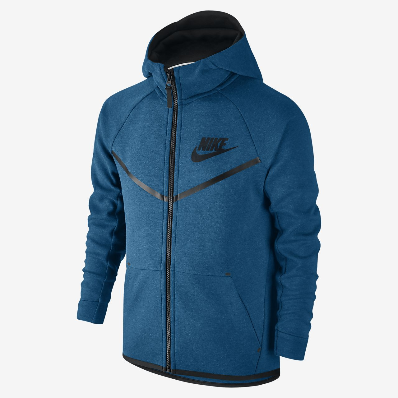nike sportswear tech fleece windrunner older kids 39 boys 39 hoodie lu. Black Bedroom Furniture Sets. Home Design Ideas