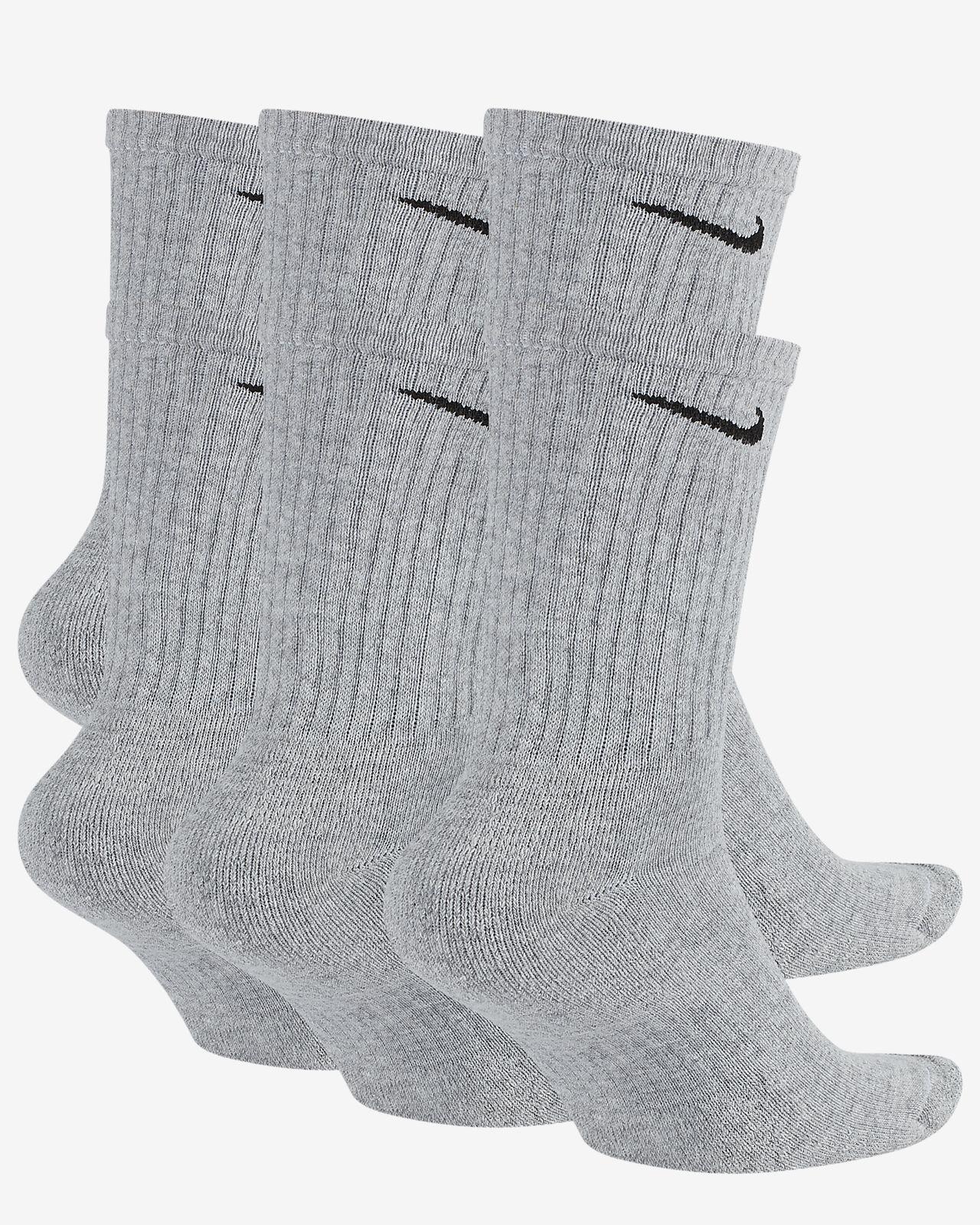 42145337789a7 Nike Everyday Cushioned Training Crew Socks (6 Pairs)