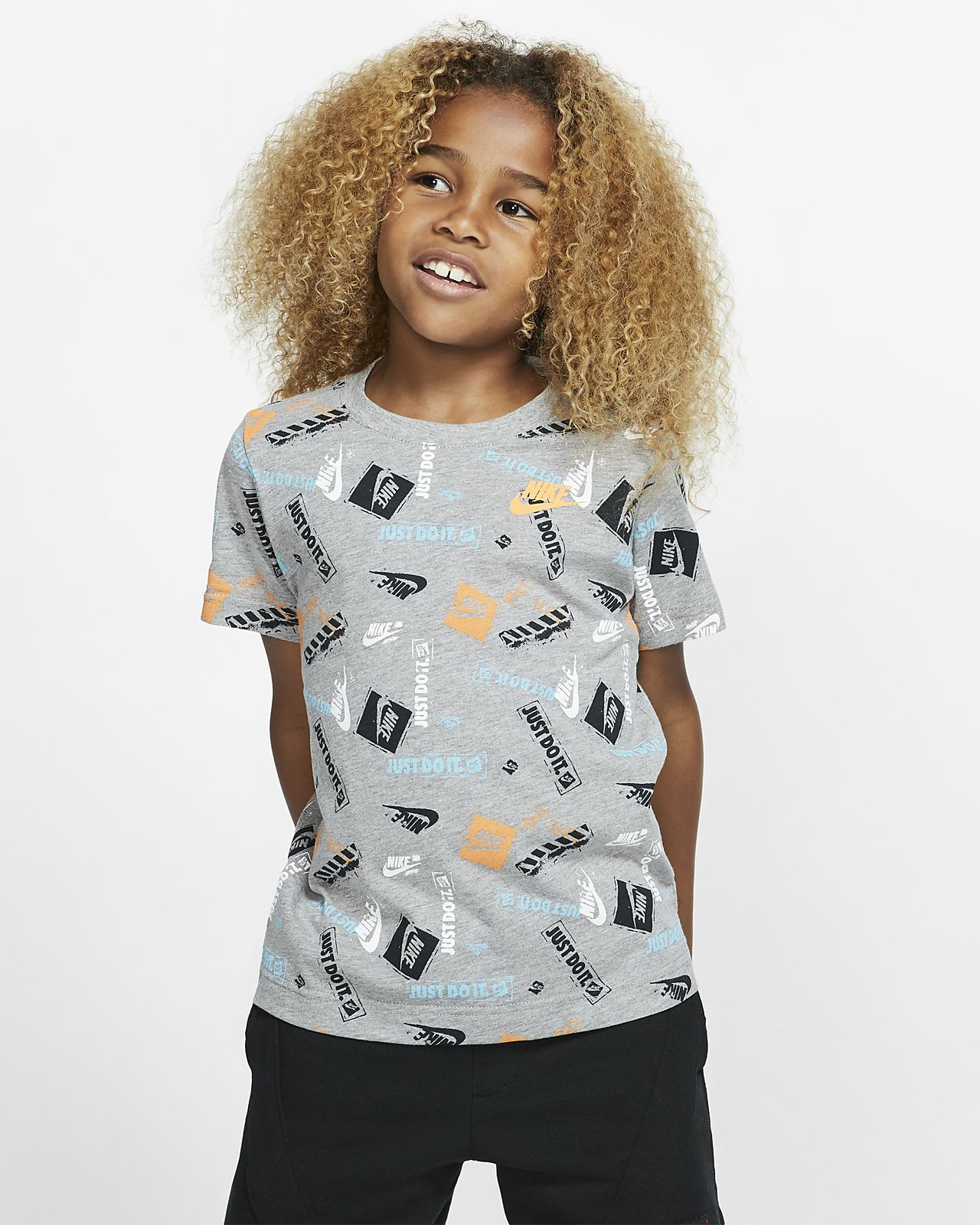 Nike幼童印花T恤