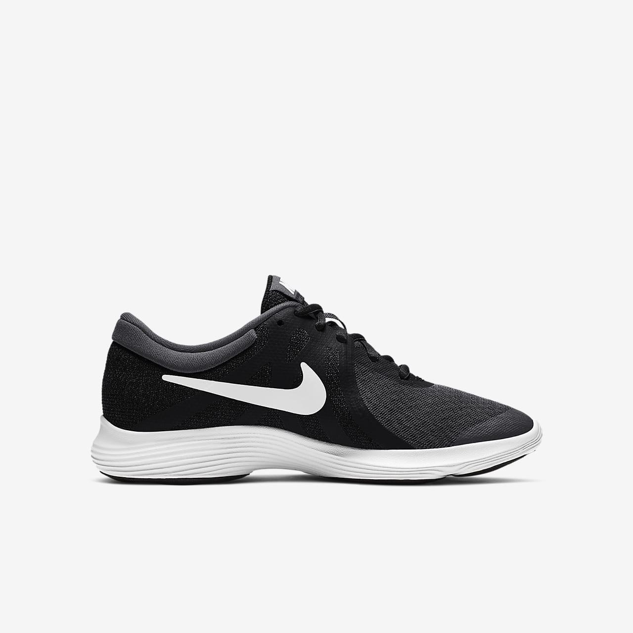658cda9f337538 Nike Revolution 4 Big Kids  Running Shoe. Nike.com