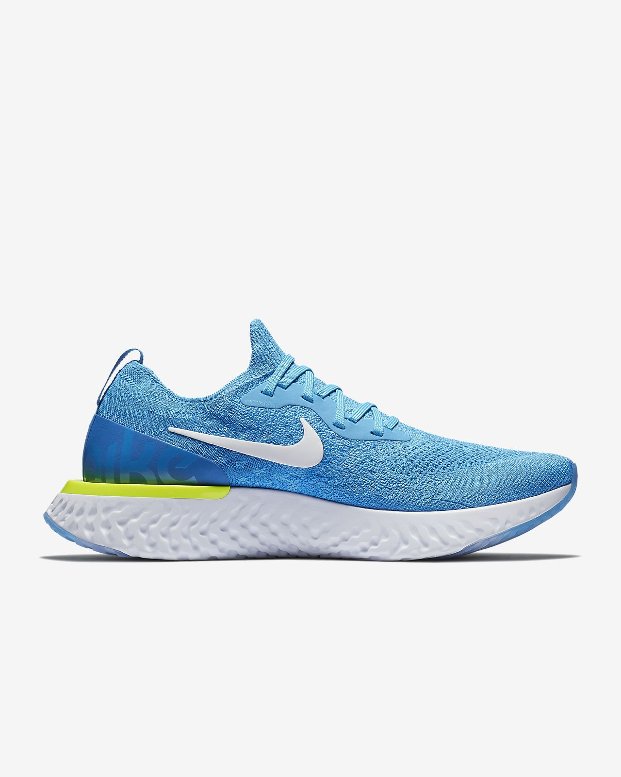 newest cb54e ba44b Nike PerformanceEPIC REACT FLYKNIT - Neutral running shoes - diffused taupe blue  void phantom